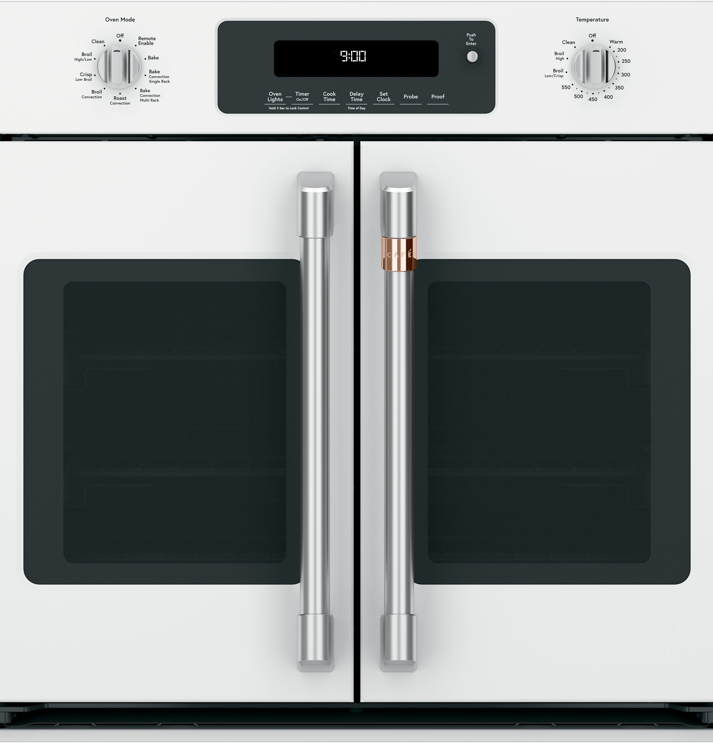 "Model: CTS90FP4MW2 | Cafe Café™ 30"" Smart French-Door Single Wall Oven with Convection"