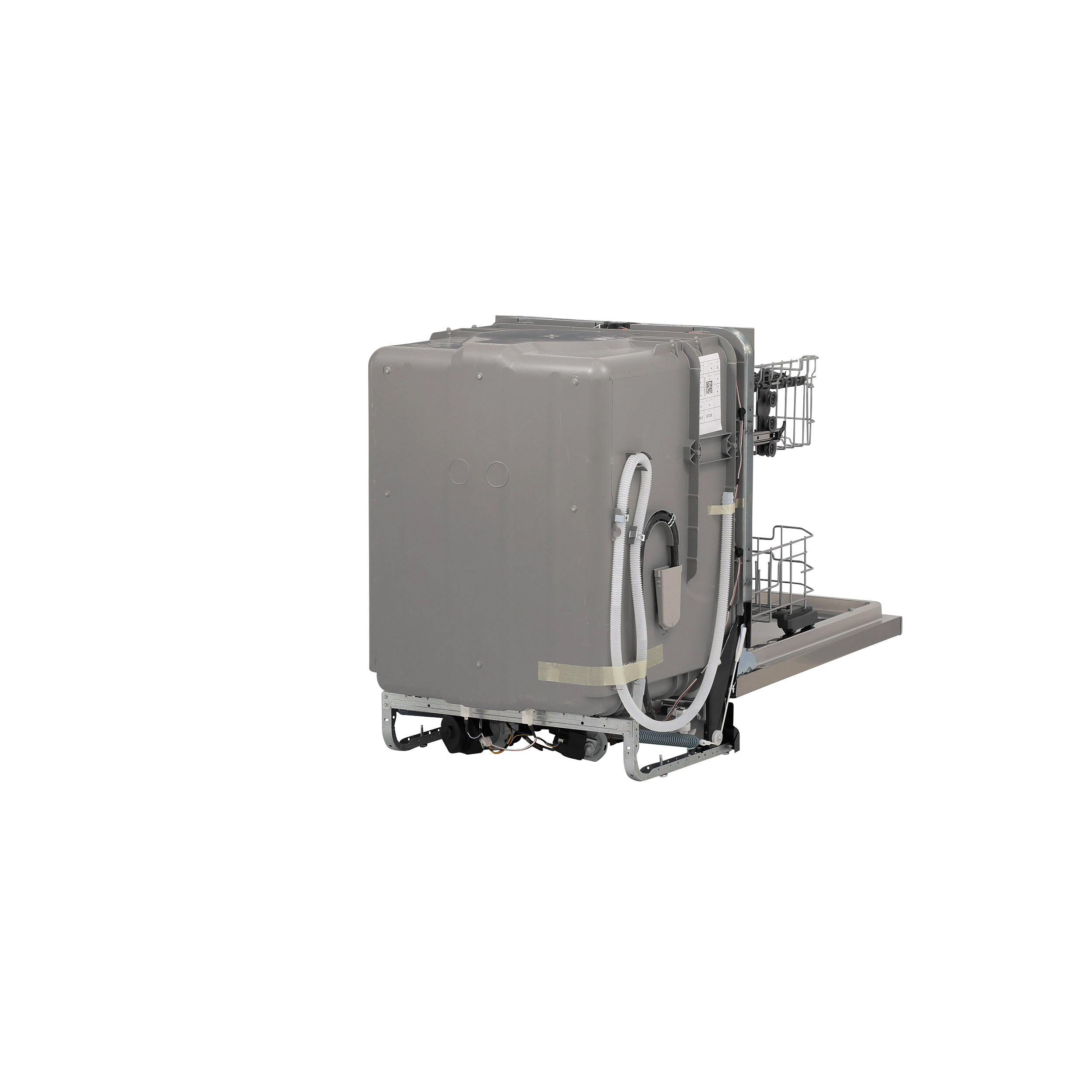 Model: GDP615HSMSS | GE® Hybrid Stainless Steel Interior Dishwasher with Hidden Controls