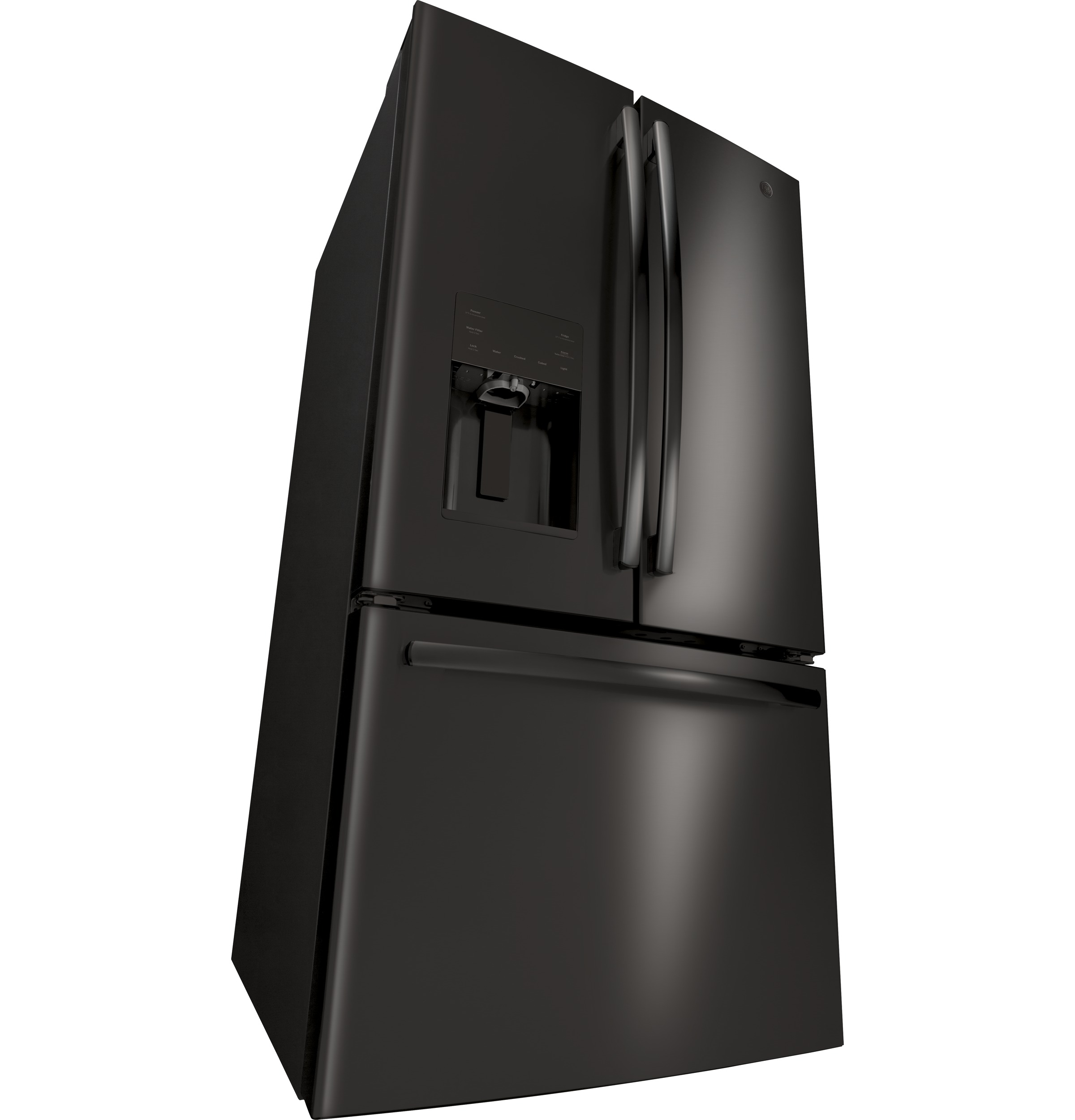 Model: GFE26JBMTS | GE GE® ENERGY STAR® 25.6 Cu. Ft. French-Door Refrigerator