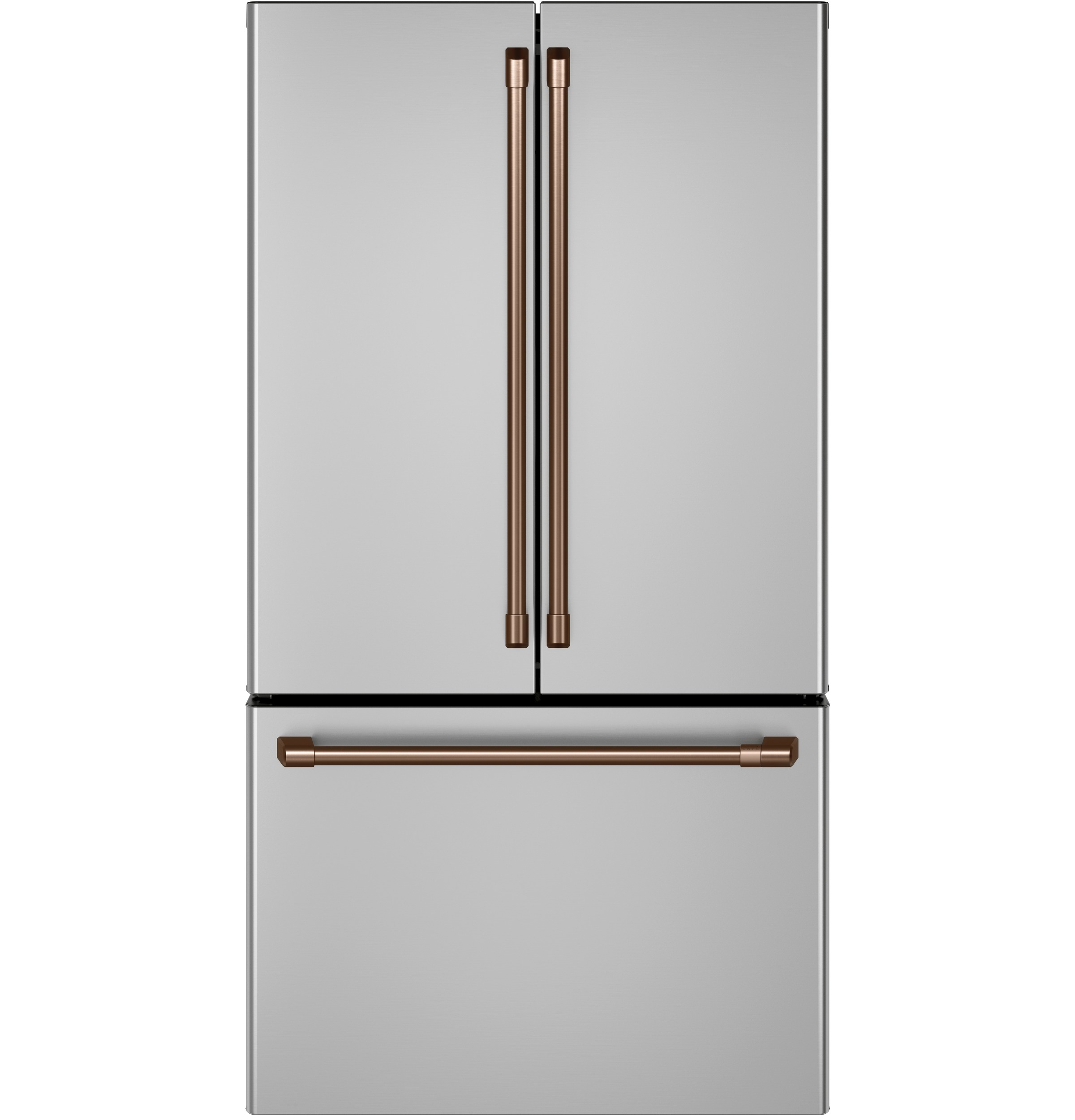 Model: CWE23SP2MS1 | Cafe Café™ ENERGY STAR® 23.1 Cu. Ft. Smart Counter-Depth French-Door Refrigerator