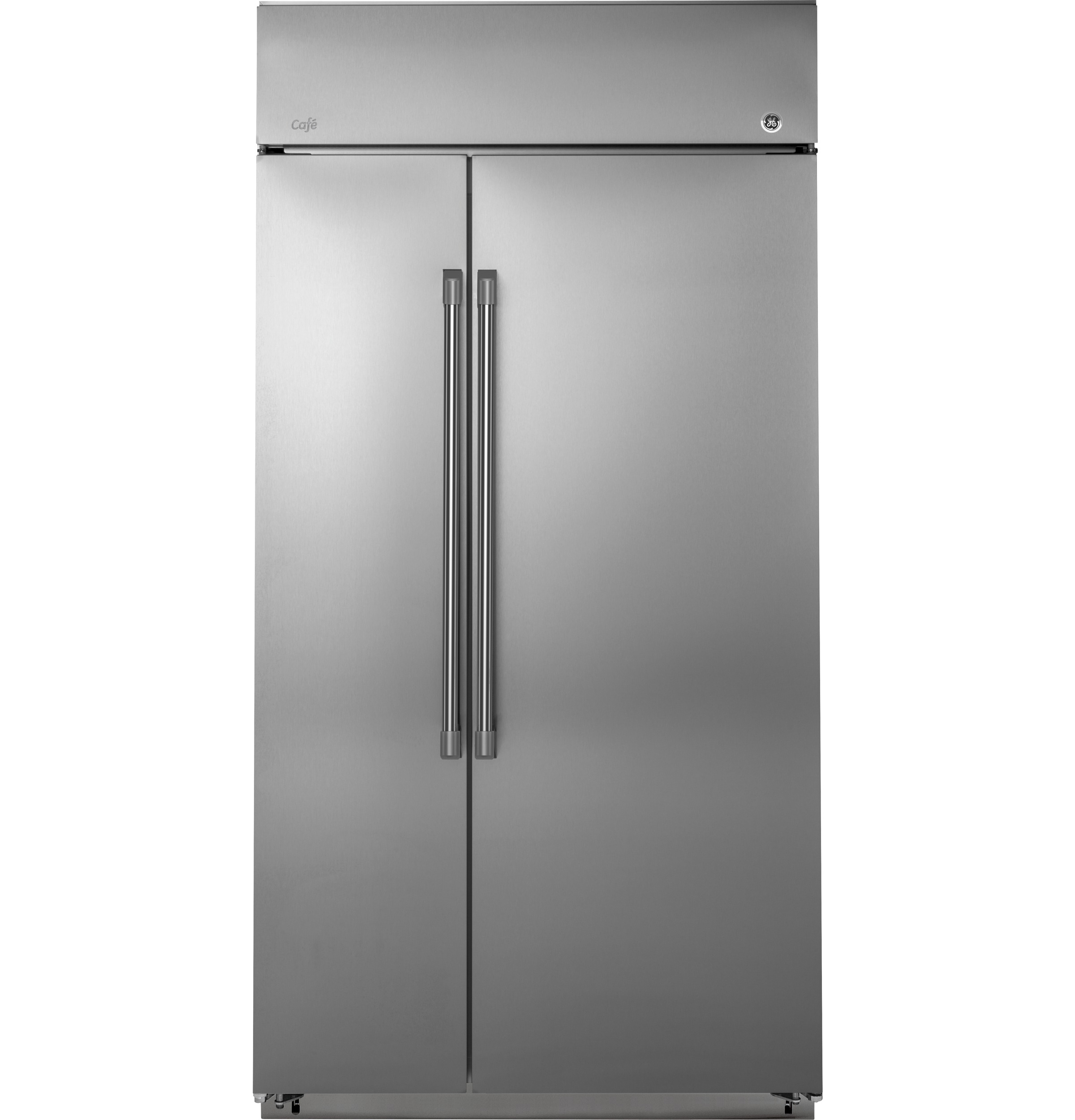 "GE Cafe GE Café™ Series 48"" Built-In Side-by-Side Refrigerator"