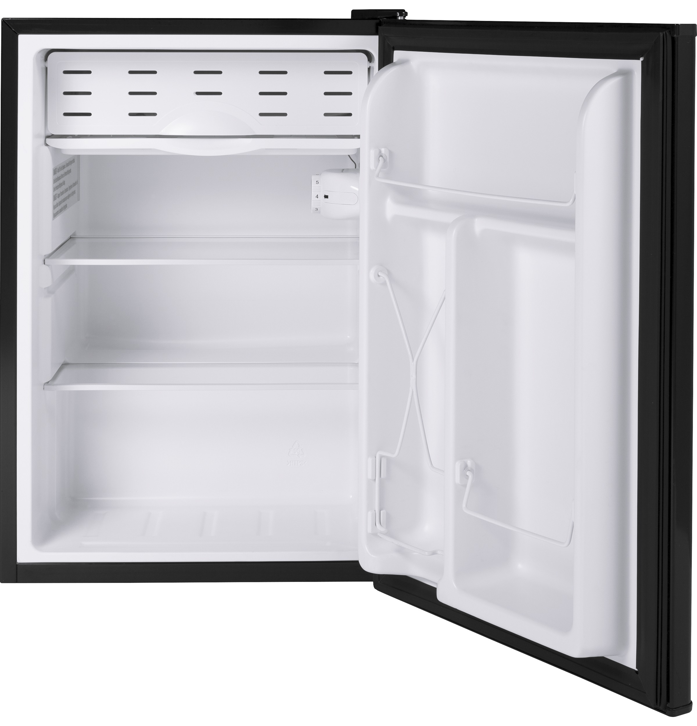 Model: HME03GGMBB | Hotpoint® 2.7 cu. ft. ENERGY STAR® Qualified Compact Refrigerator
