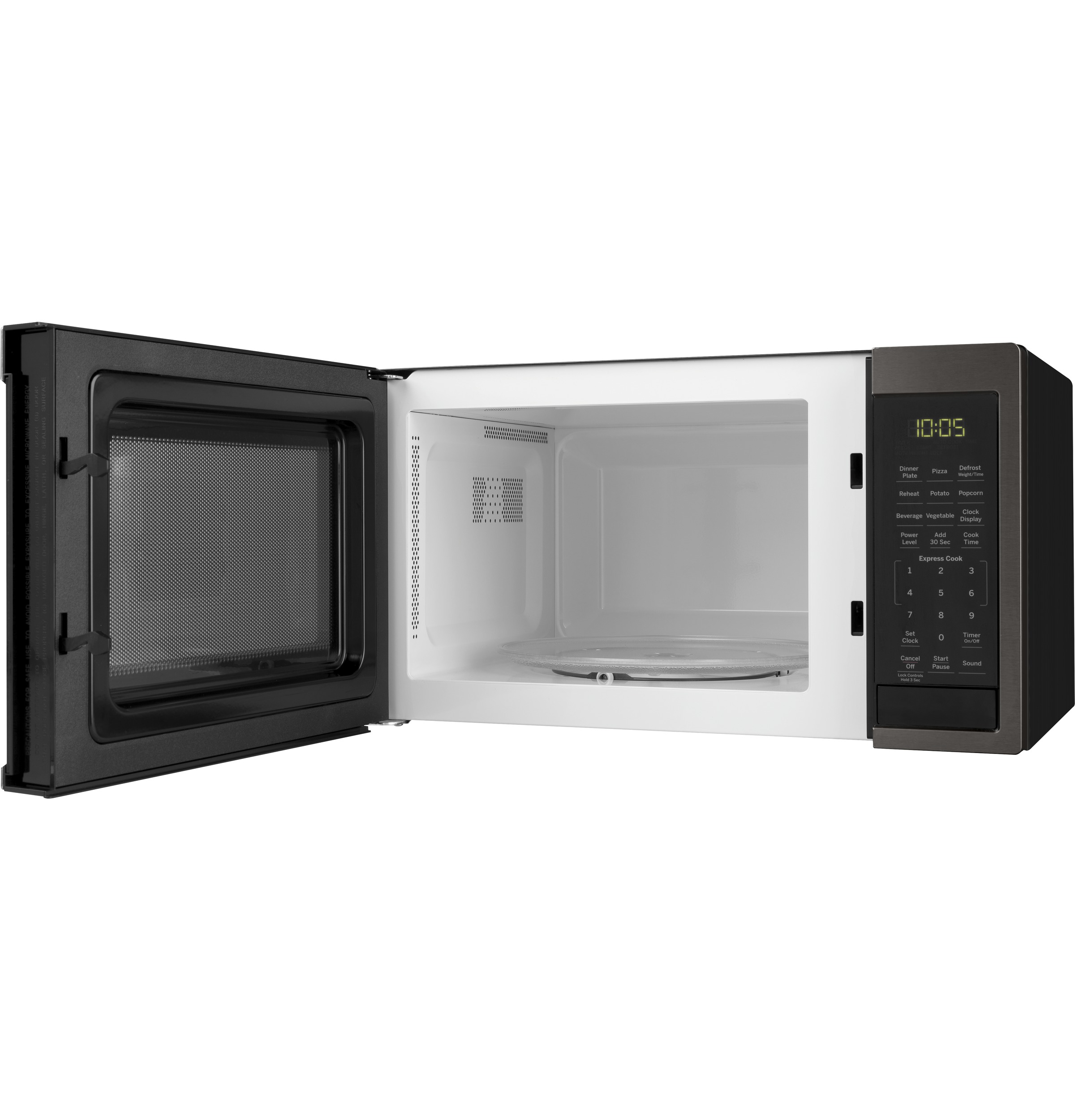 Model: JES1095BMTS | GE GE® 0.9 Cu. Ft. Capacity Countertop Microwave Oven