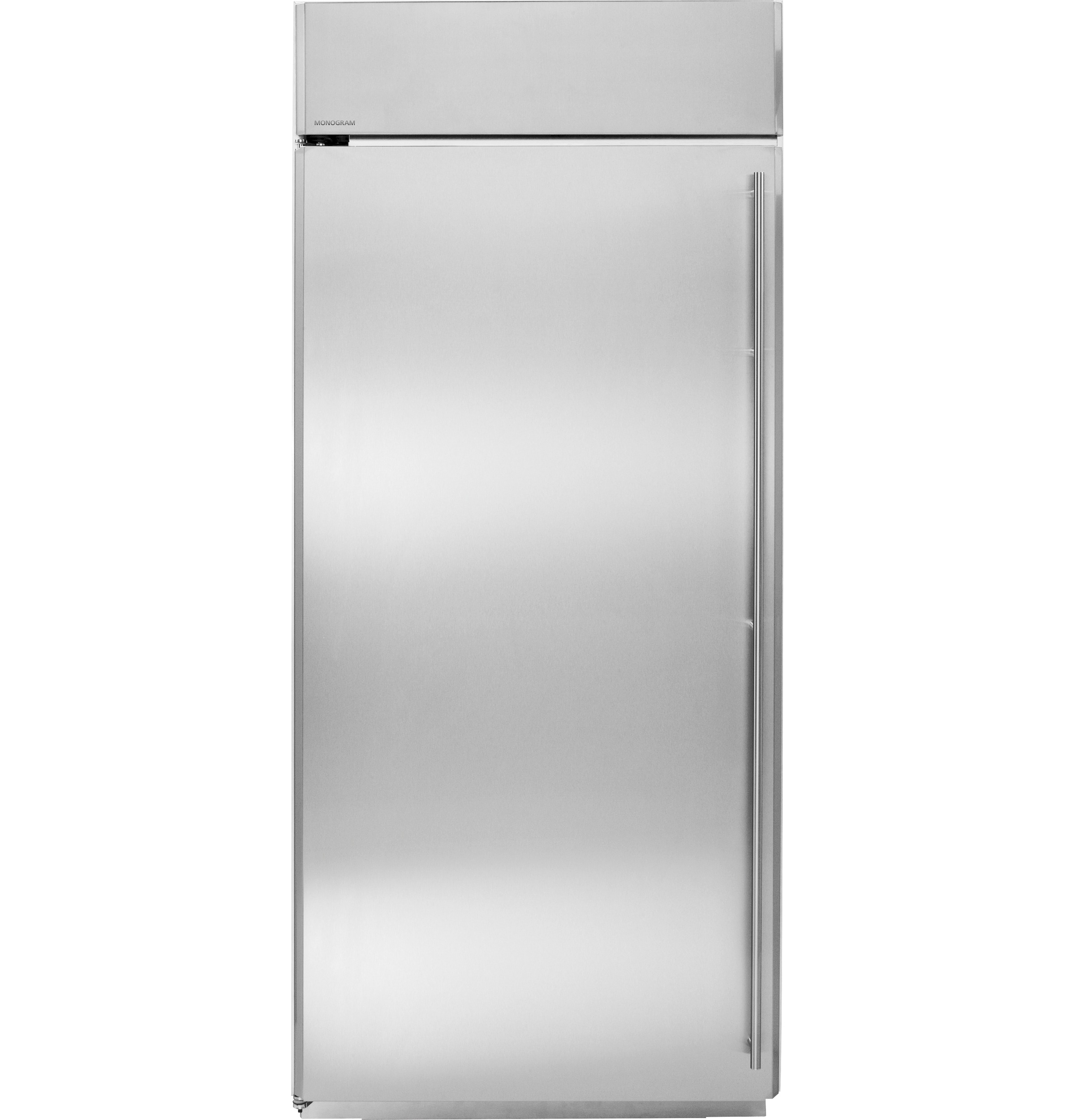 "Model: ZIFS360NHLH | Monogram Monogram 36"" Built-In All Freezer"