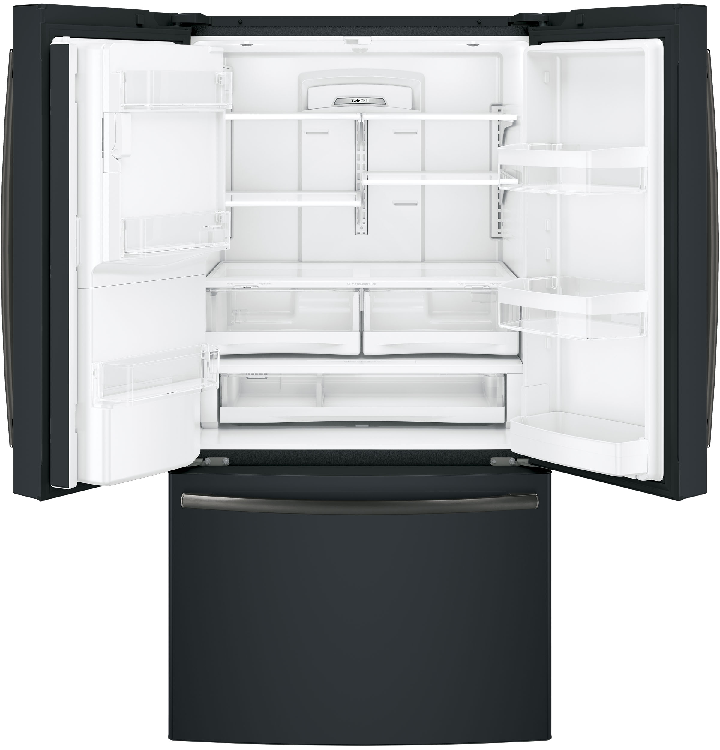 Model: GFE28GELDS | GE GE® ENERGY STAR® 27.8 Cu. Ft. French-Door Refrigerator