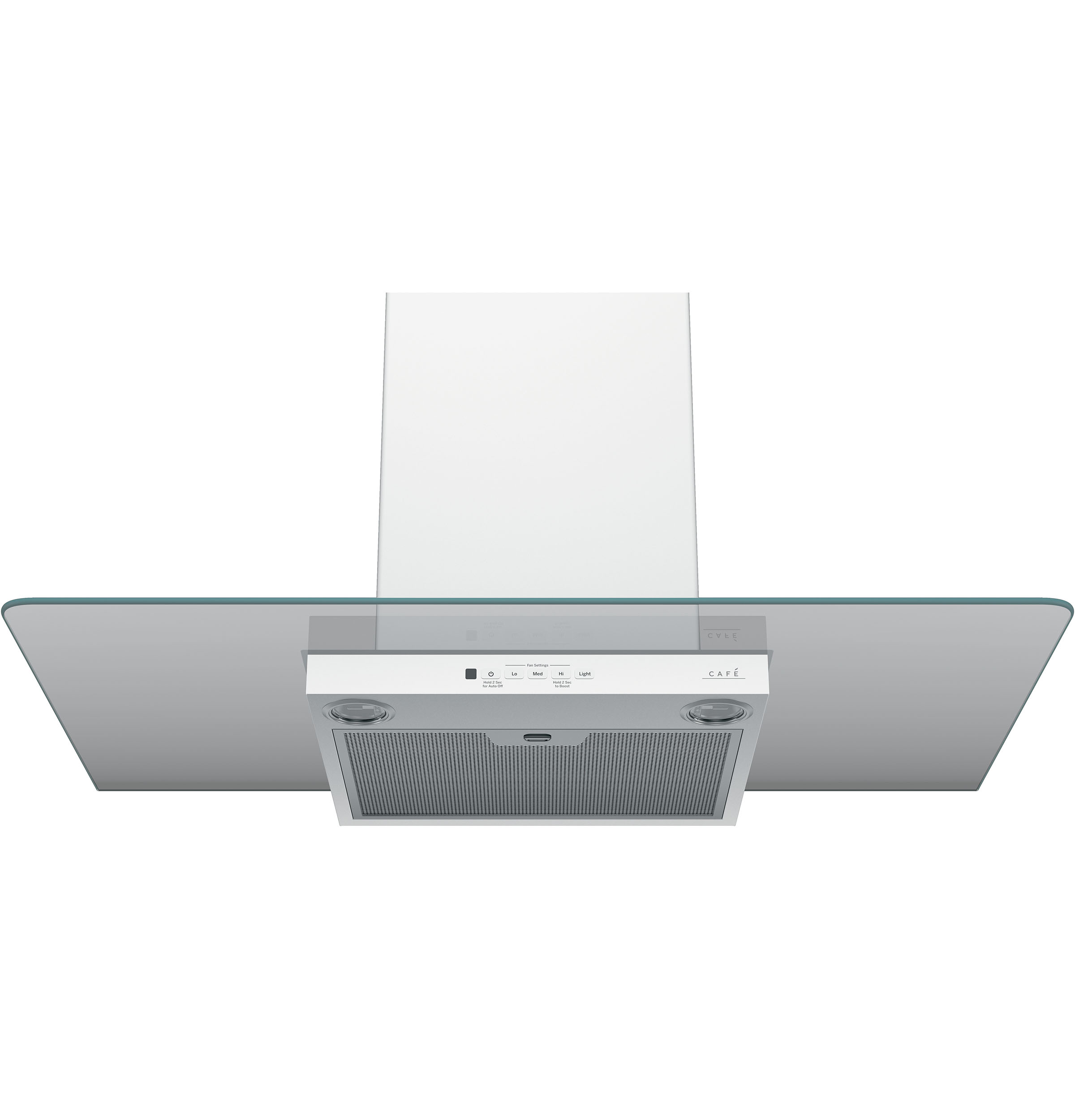 "Model: CVW73614MWM | Cafe Café™ 36"" Wall-Mount Glass Canopy Chimney Hood"