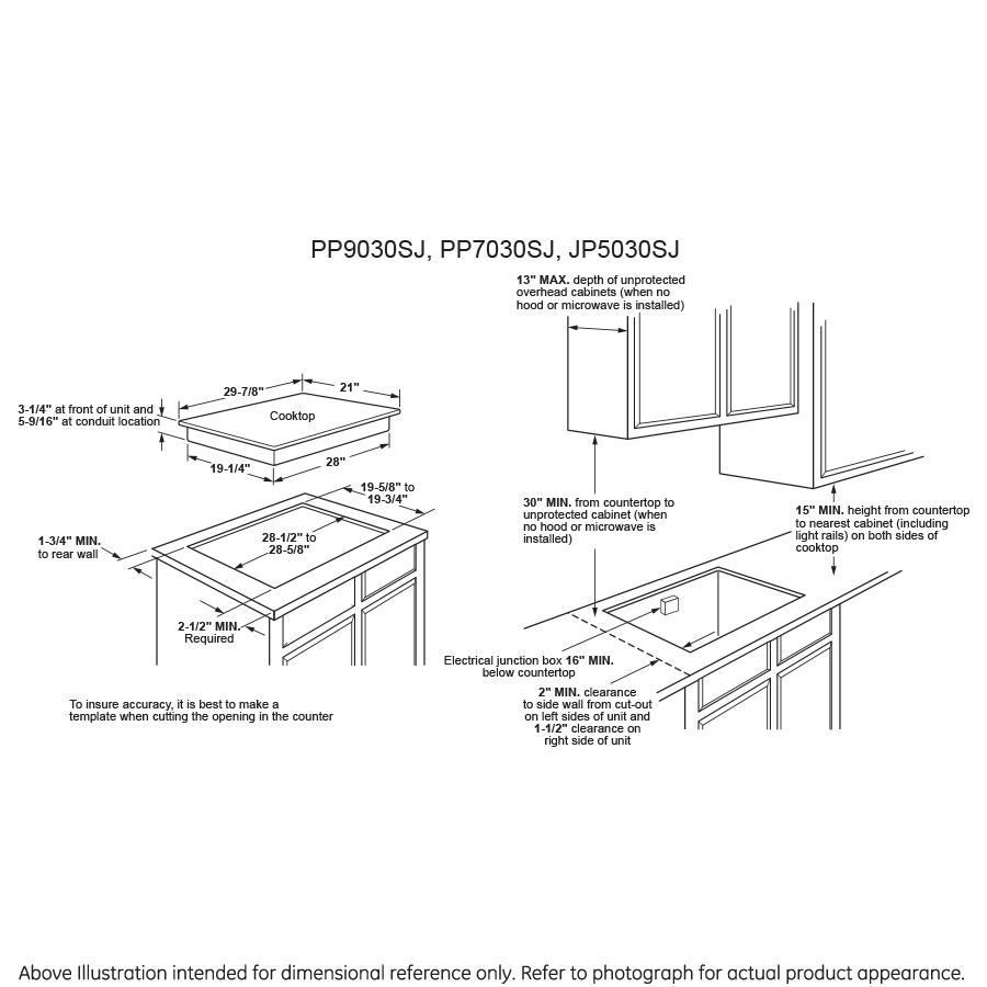 Model: PP9030SJSS | GE Profile™ Series 30