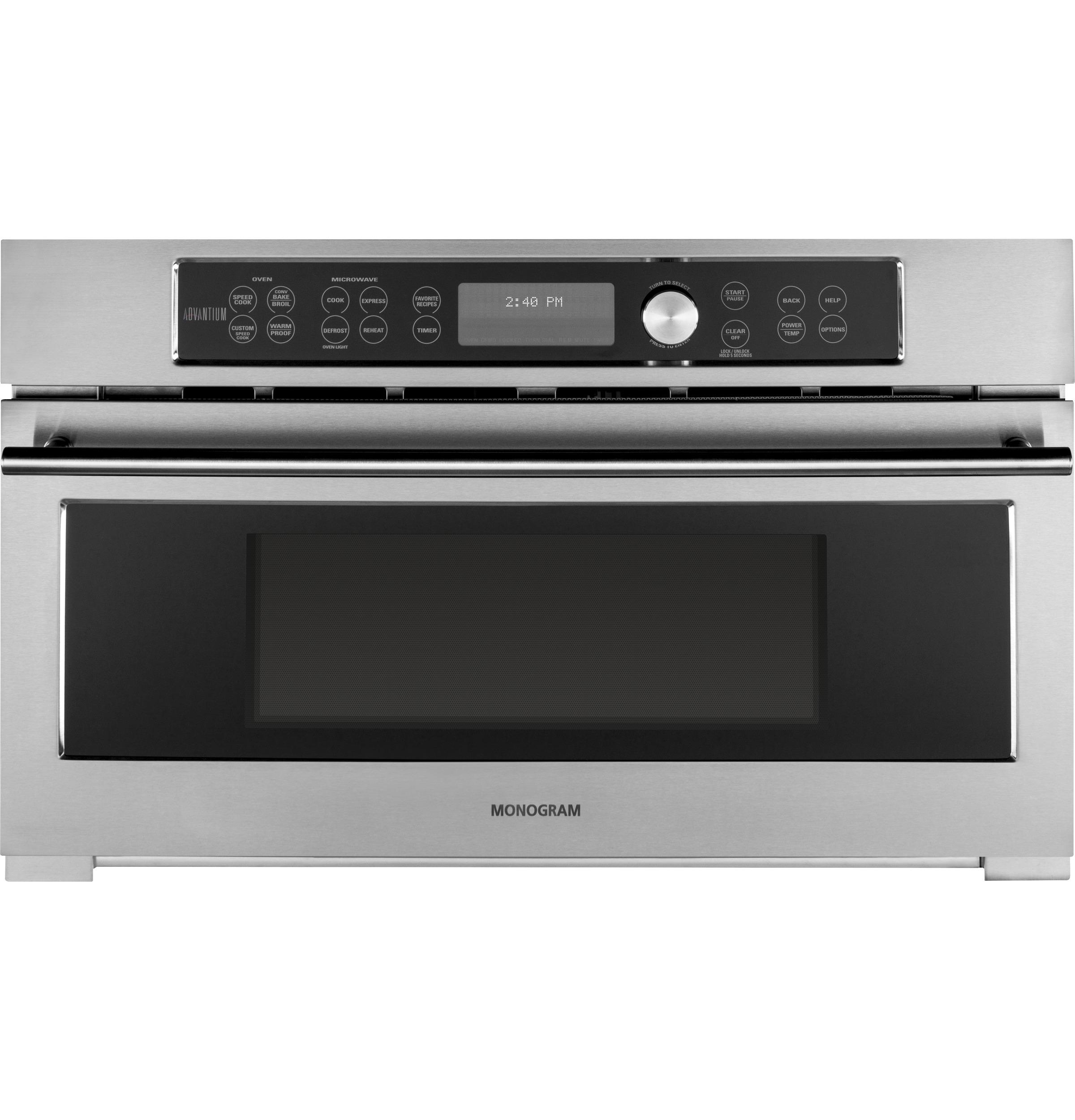 Model: ZSC1201JSS   Monogram Built-In Oven with Advantium® Speedcook Technology- 120V