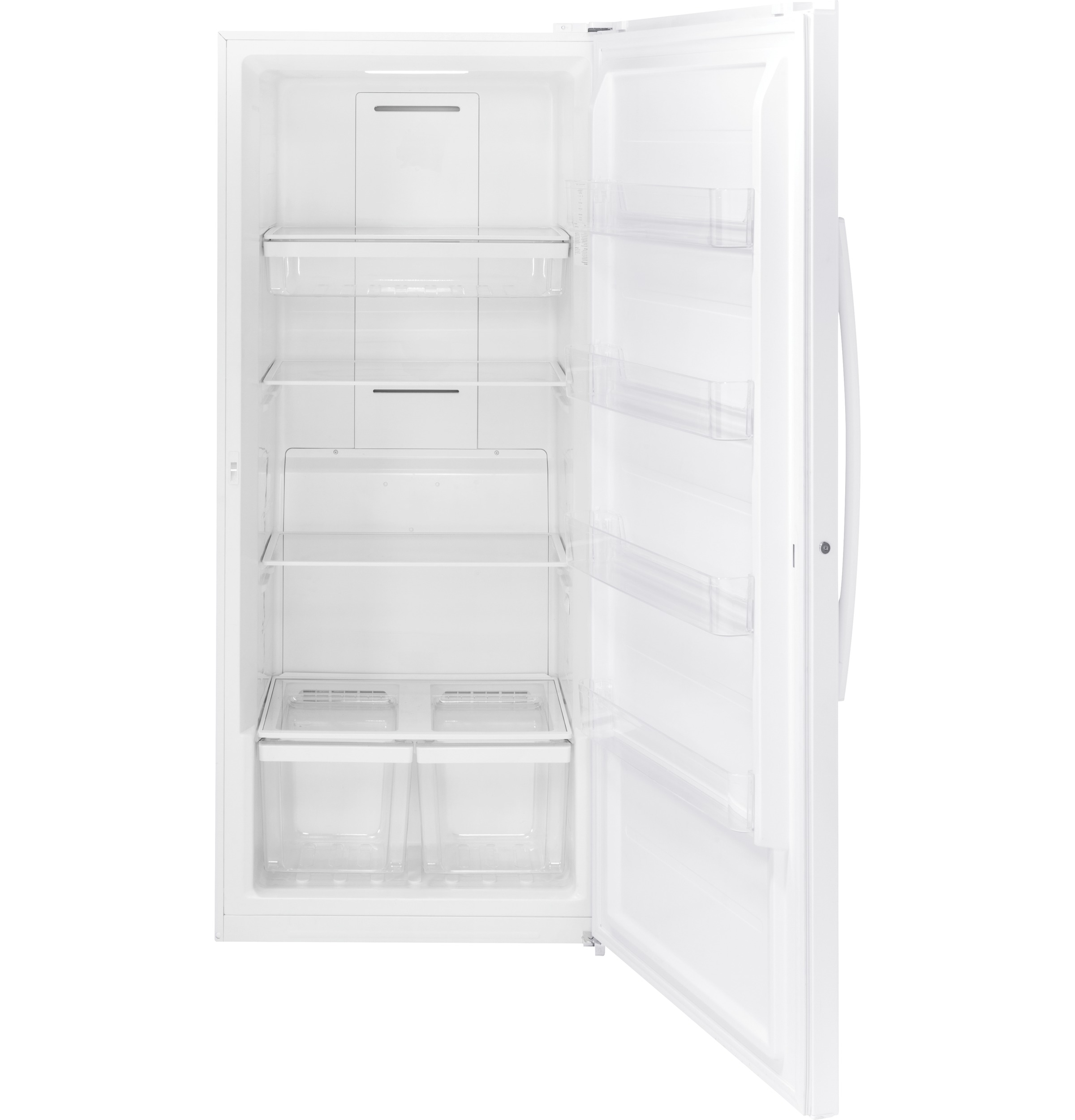 Model: FUF21DLRWW | GE GE® 21.3 Cu. Ft. Frost-Free Upright Freezer