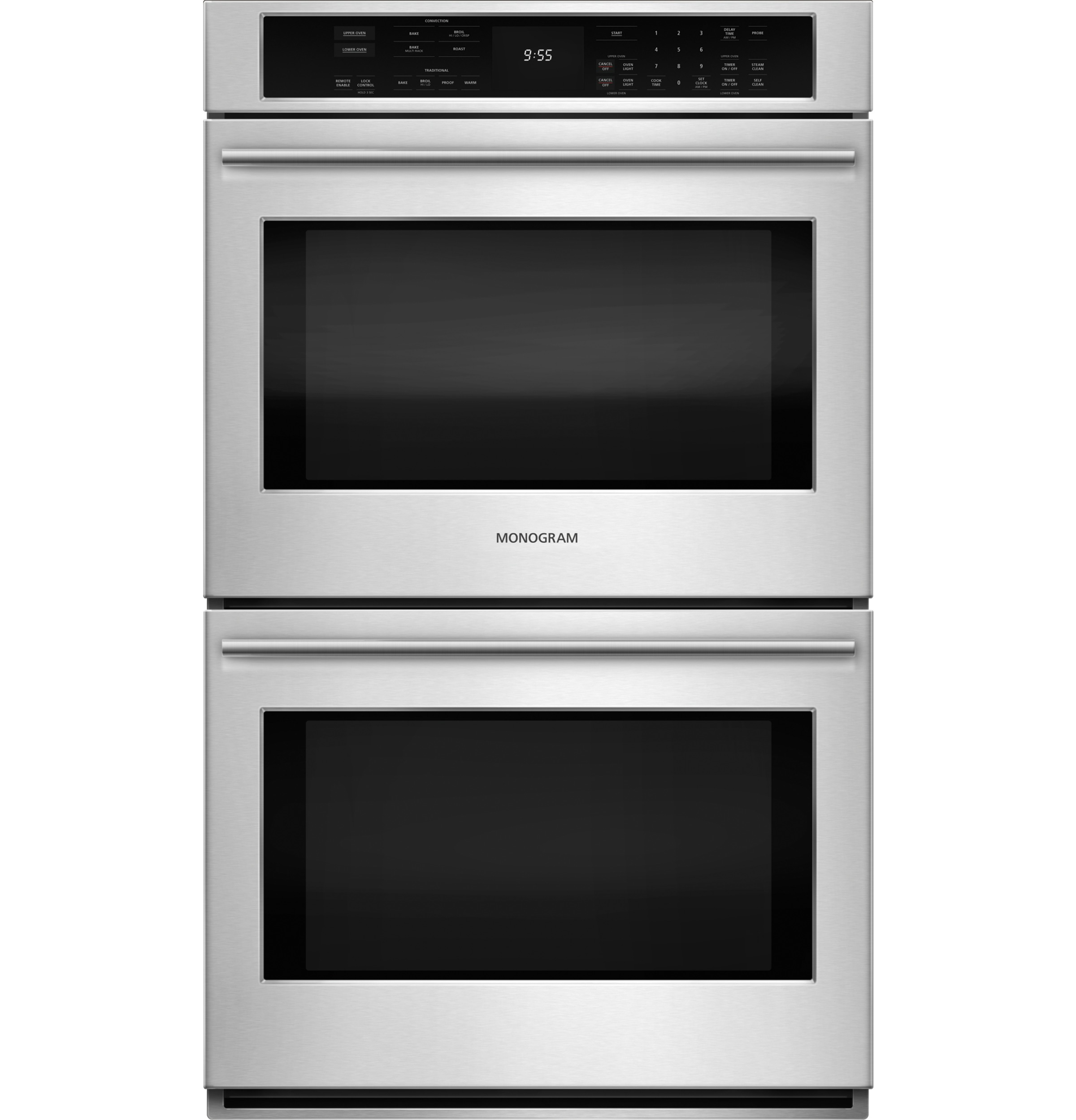 "Monogram Monogram 30"" Electric Convection Double Wall Oven"