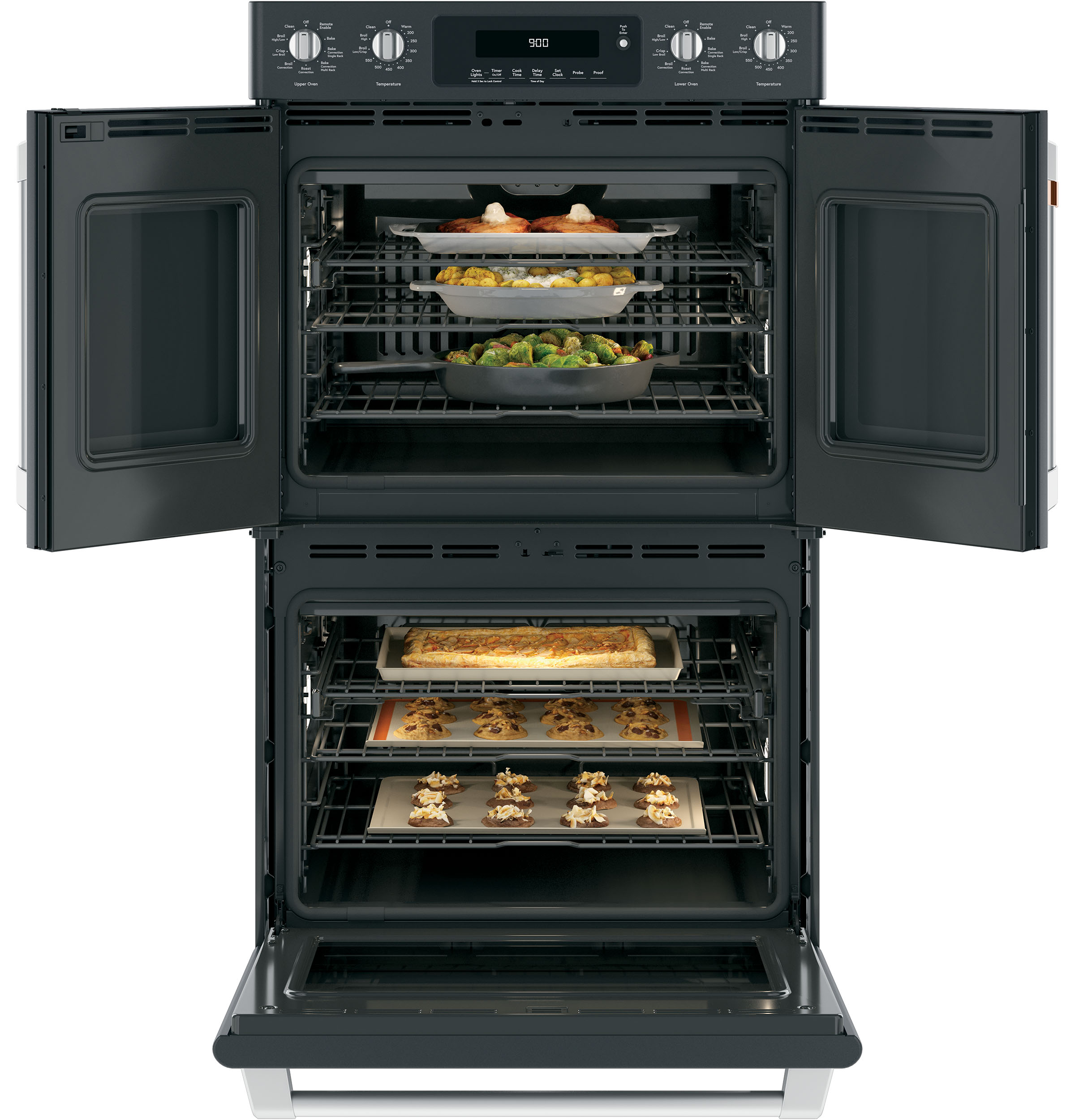 "Model: CTD90FP3MD1 | Cafe Café™ 30"" Smart French-Door, Double Wall Oven with Convection"