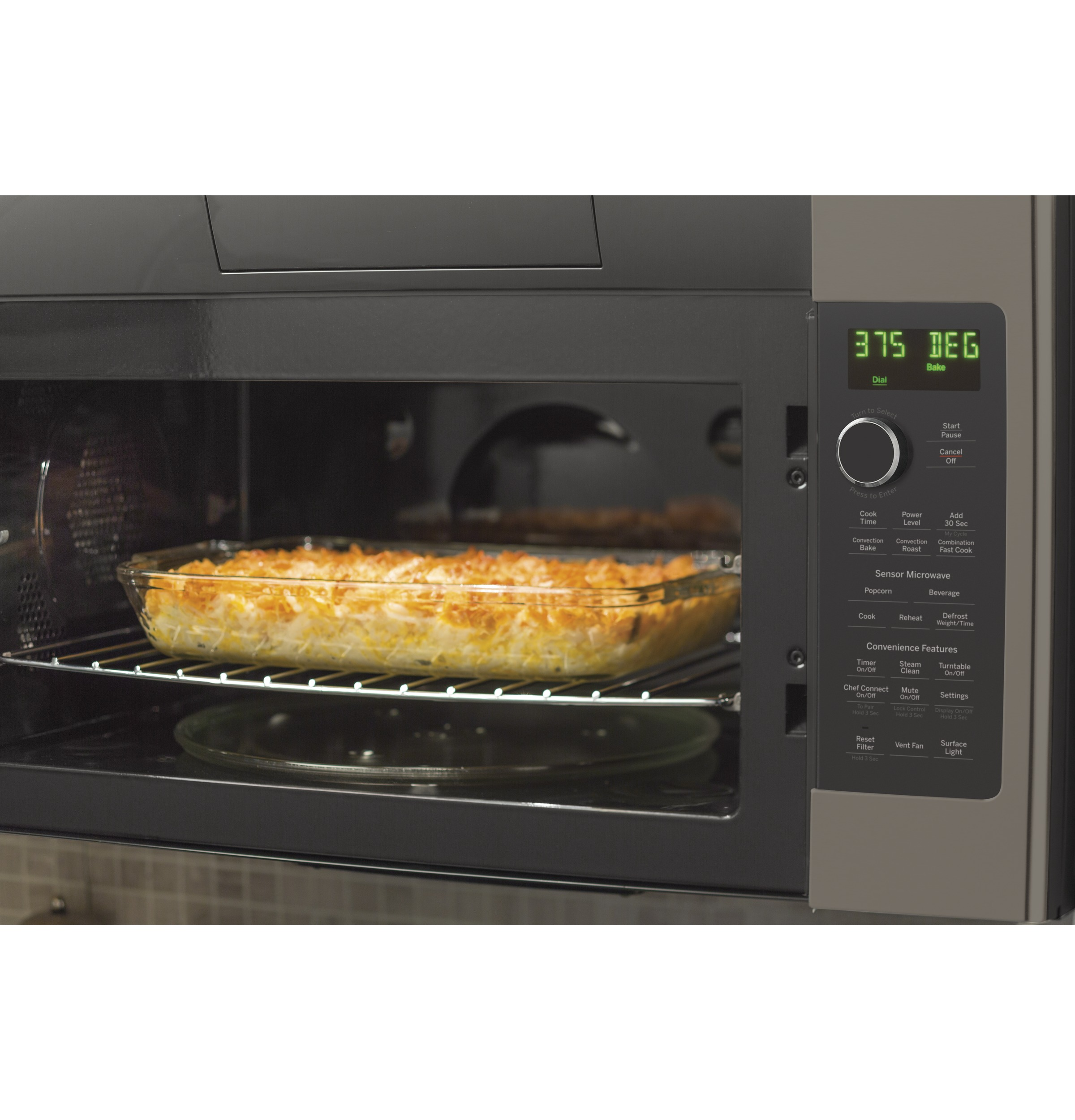 Model: PVM9179EKES   GE Profile™ Series 1.7 Cu. Ft. Convection Over-the-Range Microwave Oven
