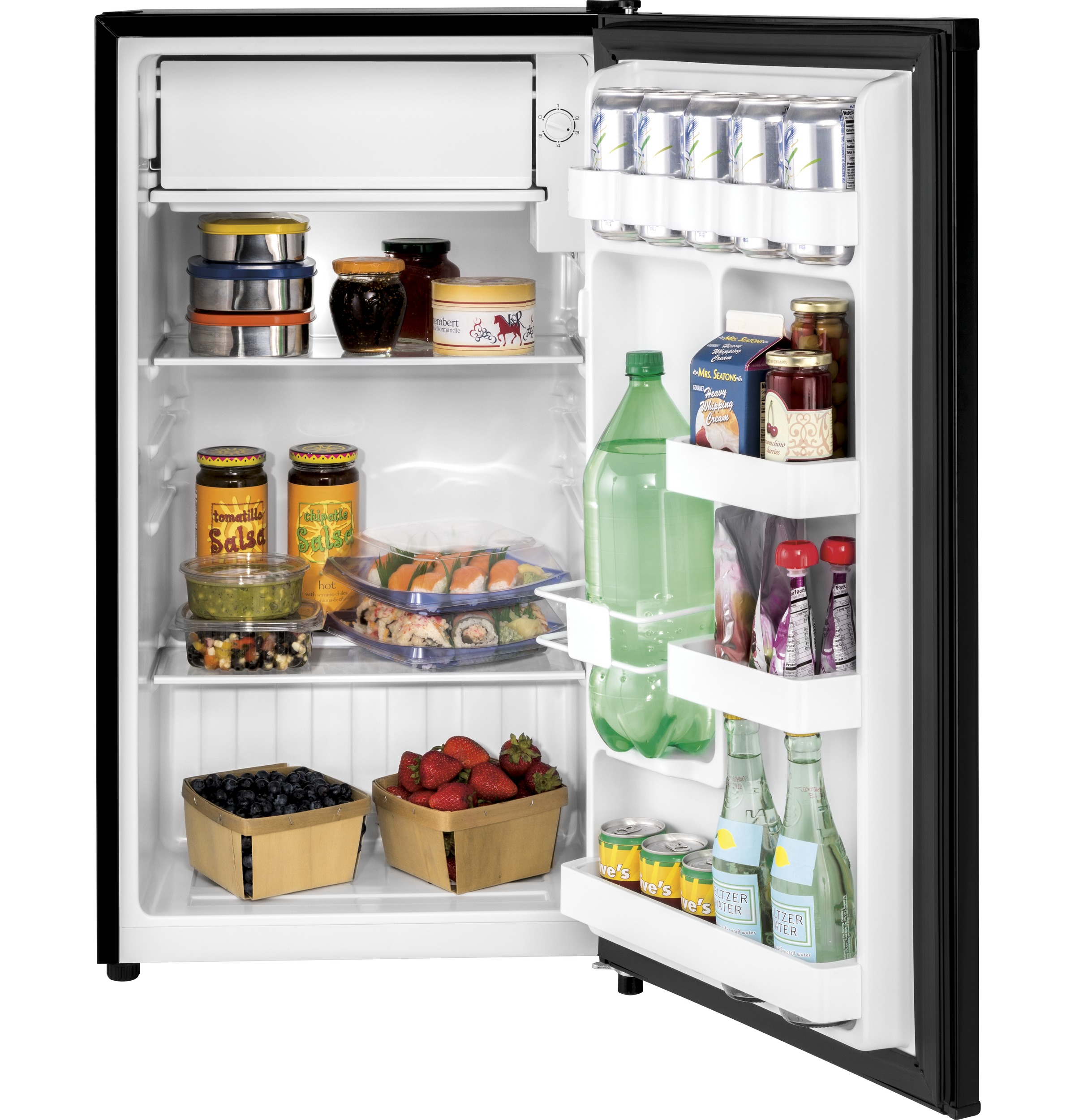 Model: HC33SW20RB | 3.3 Cu. Ft. Compact Refrigerator