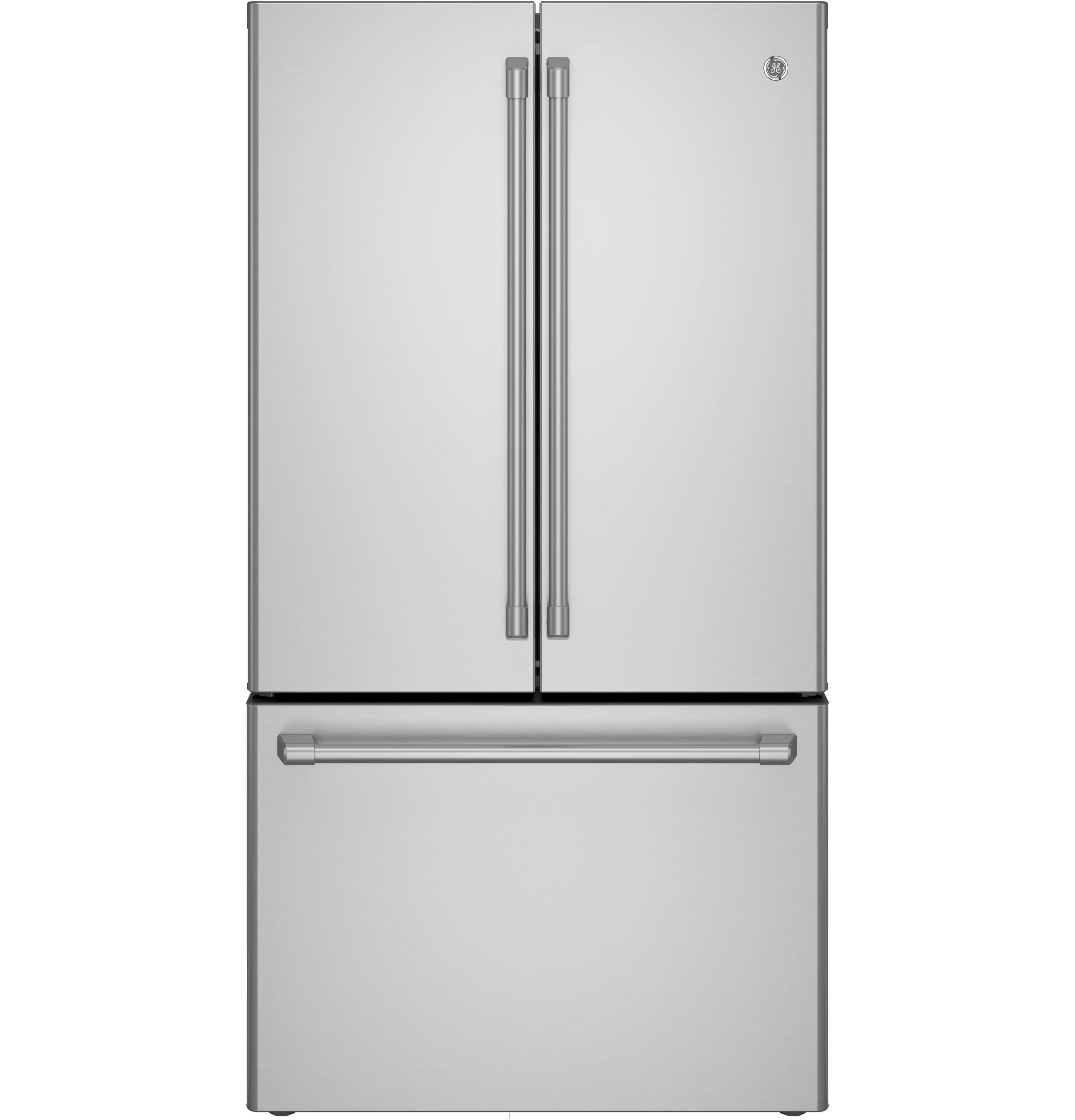 GE Cafe GE Café™ Series ENERGY STAR® 23.1 Cu. Ft. Counter-Depth French-Door Refrigerator