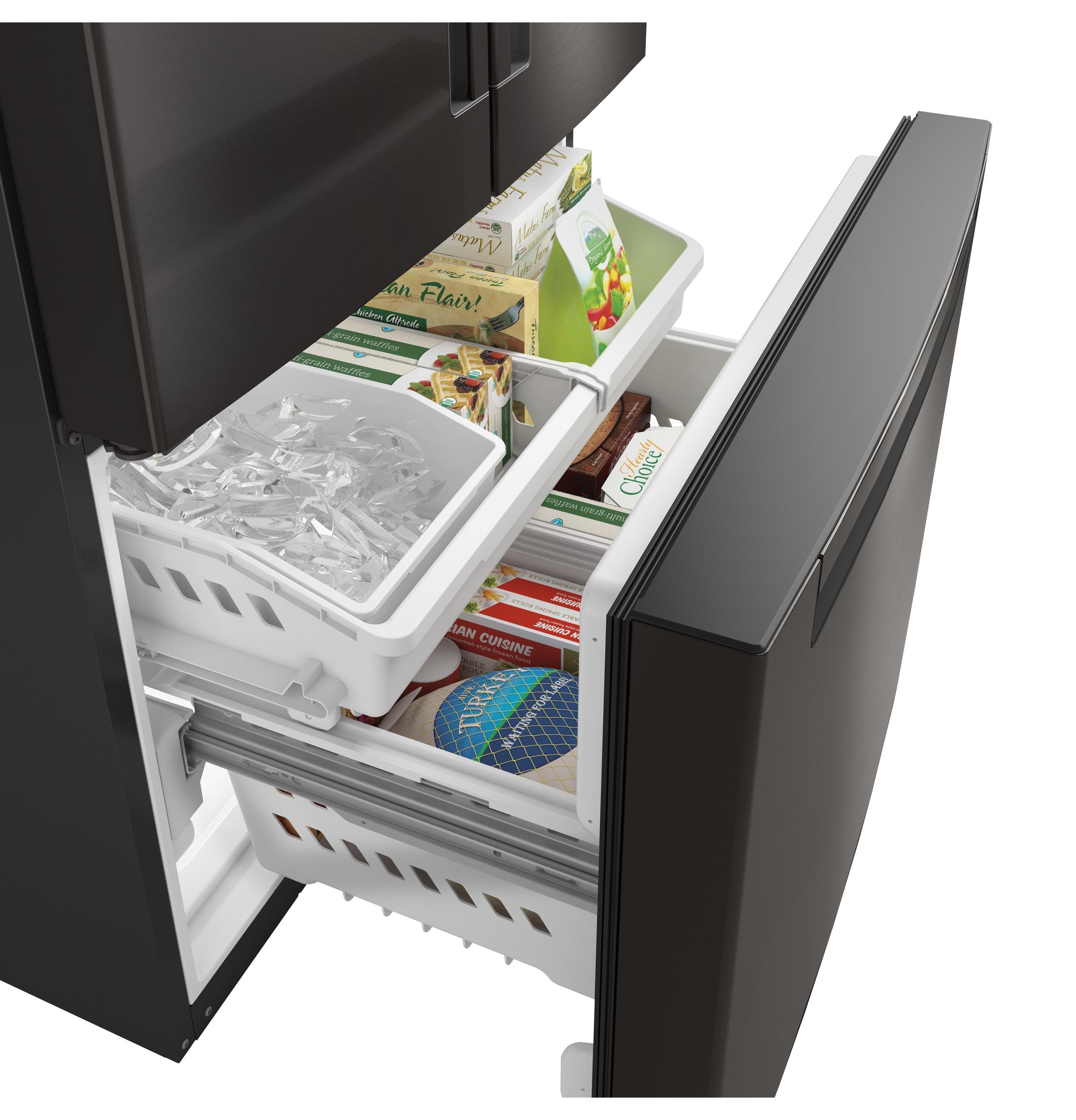 Model: QNE27JBMTS | ENERGY STAR® 27.0 Cu. Ft. French-Door Refrigerator