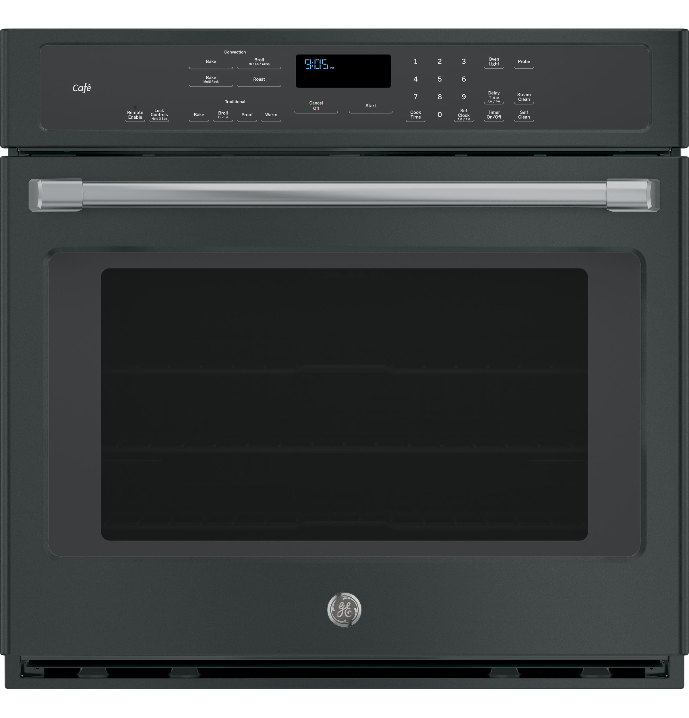 "GE Cafe GE Café™ Series 30"" Built-In Single Convection Wall Oven"