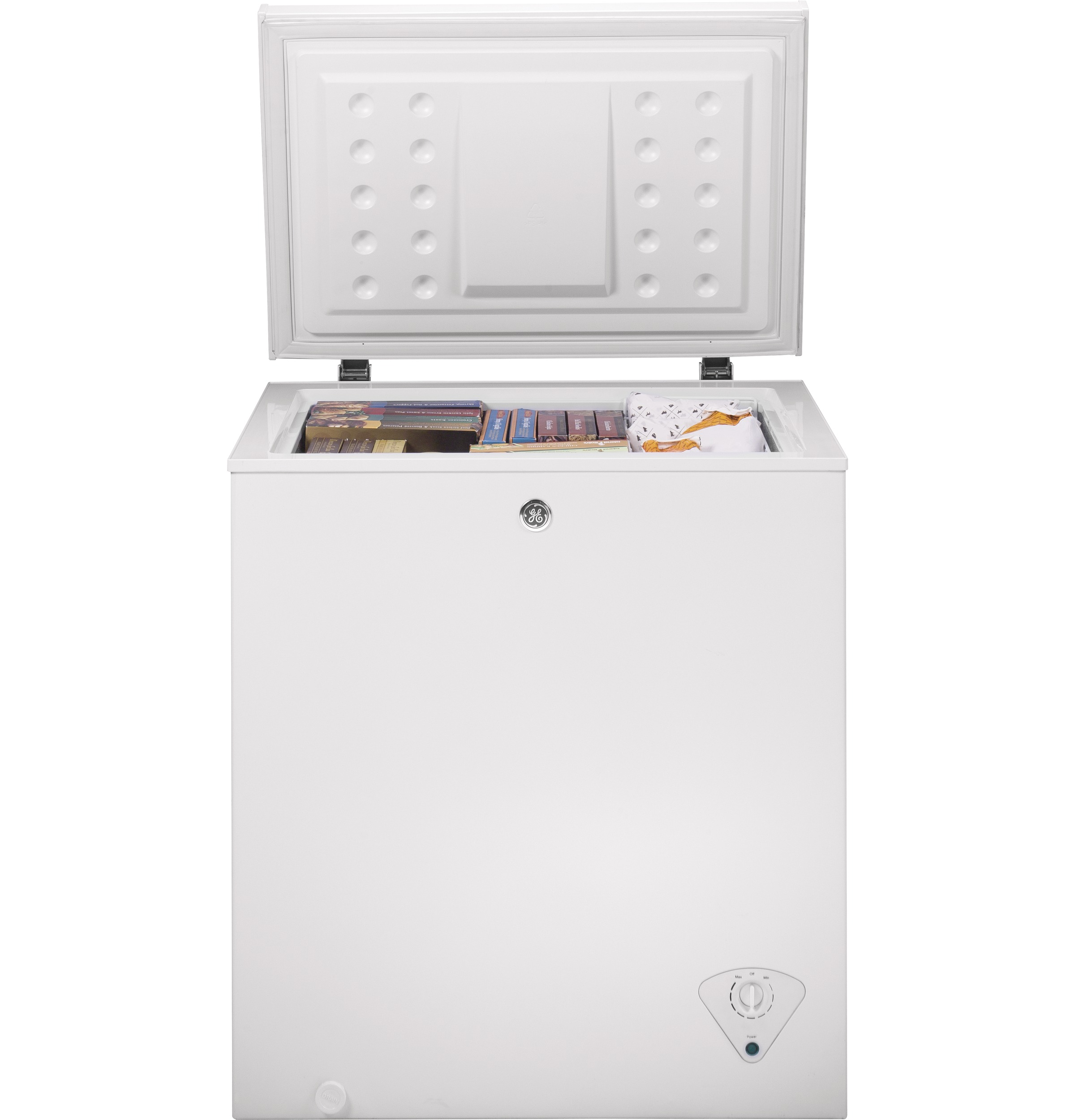Model: FCM5SKWW | GE GE® 5.0 Cu. Ft. Manual Defrost Chest Freezer