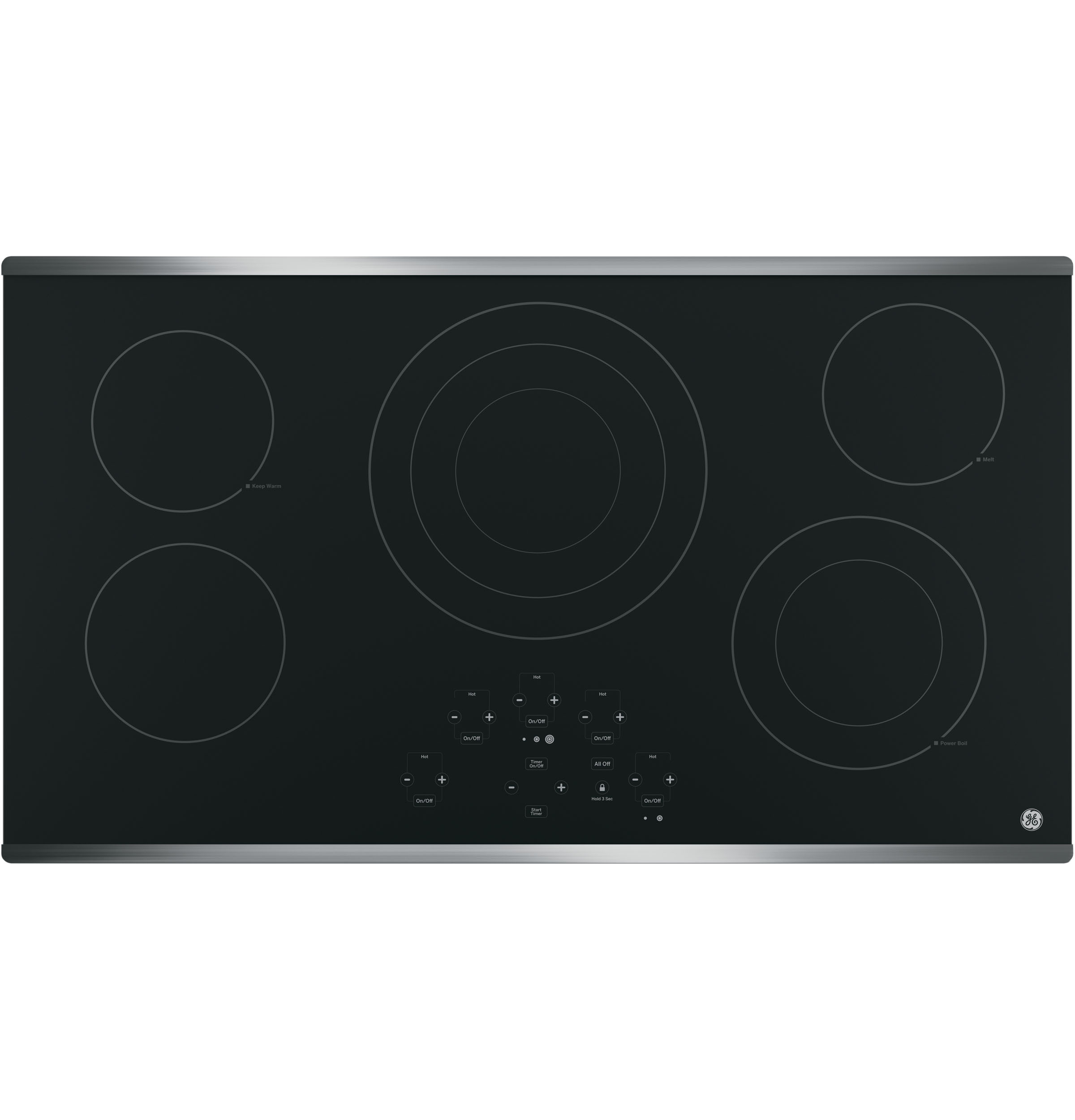 "GE GE® 36"" Built-In Touch Control Electric Cooktop"