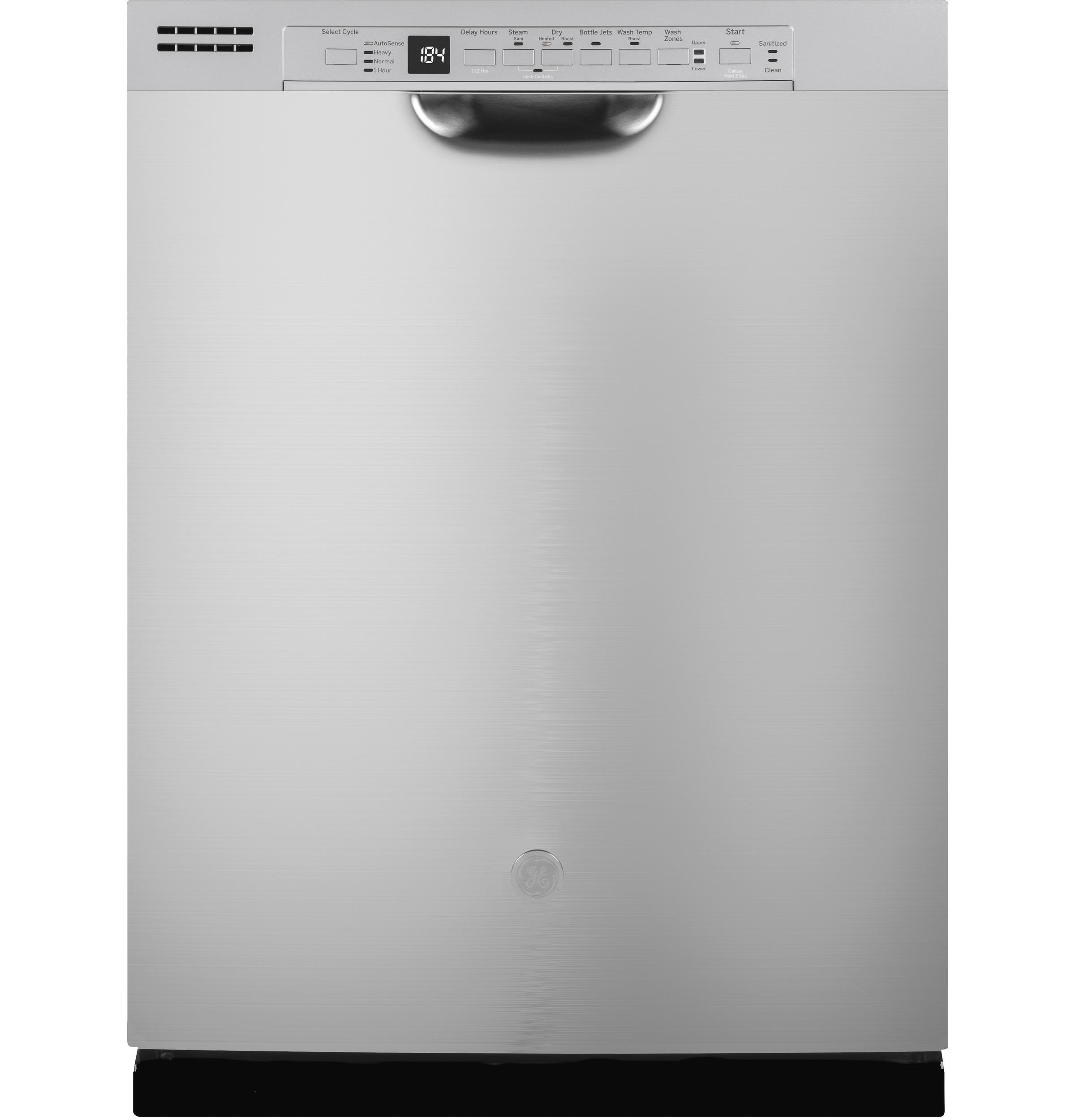 GE GE® Front Control with Plastic Interior Dishwasher with Sanitize Cycle & Dry Boost