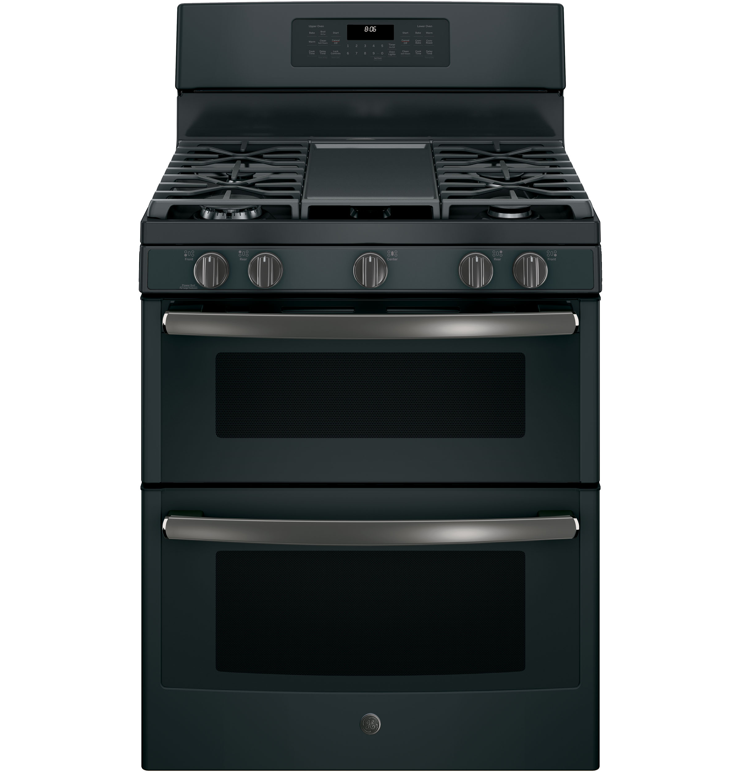 "GE GE® 30"" Free-Standing Gas Double Oven Convection Range"