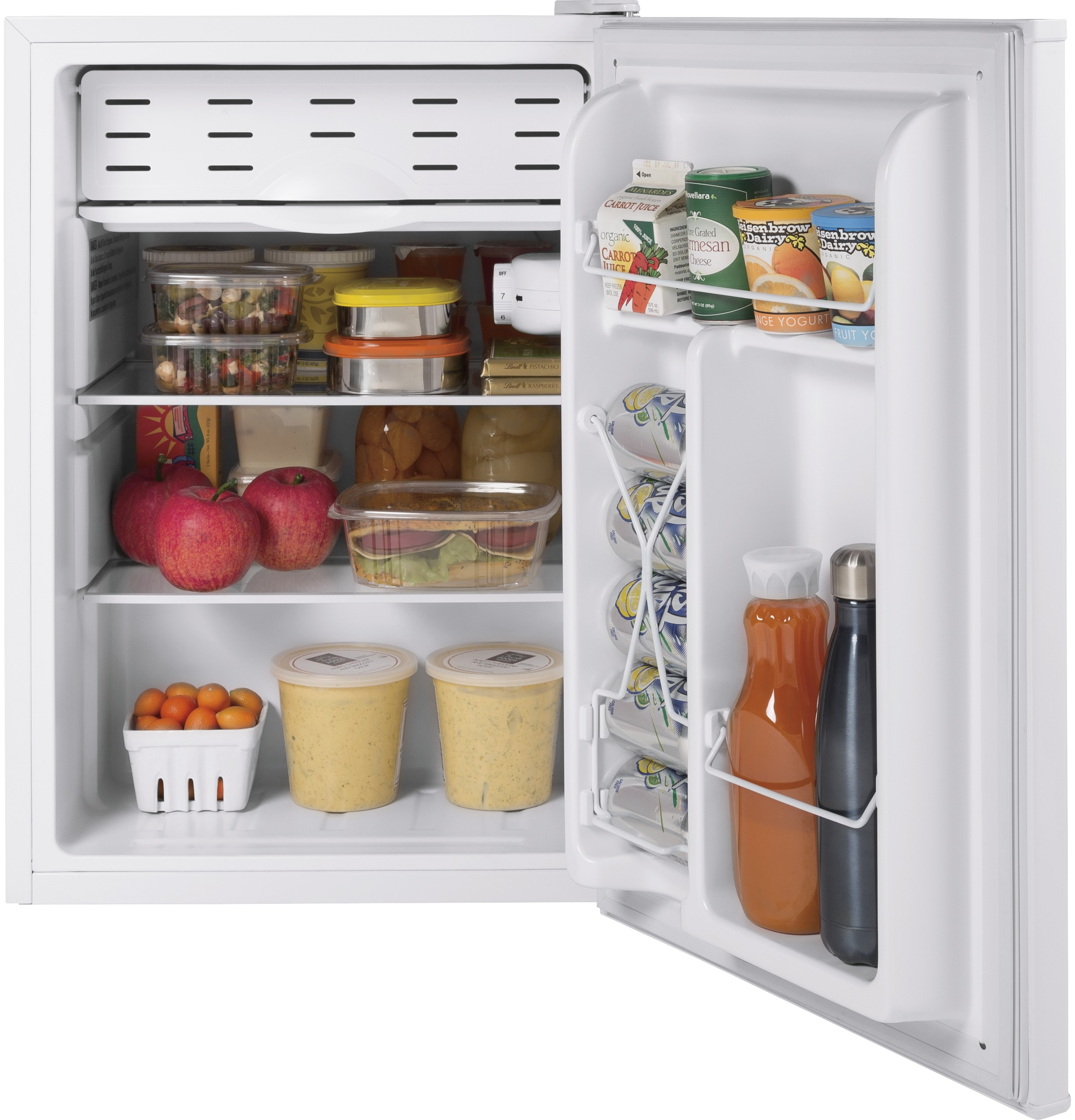 Model: HME03GGMWW | Hotpoint® 2.7 cu. ft. ENERGY STAR® Qualified Compact Refrigerator