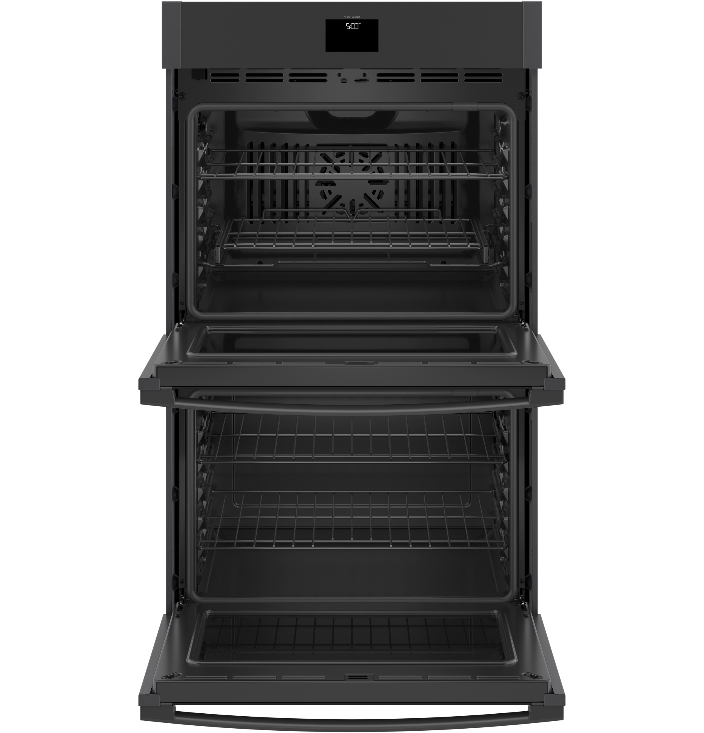 "Model: JTD5000FNDS | GE GE® 30"" Smart Built-In Self-Clean Convection Double Wall Oven with Never Scrub Racks"