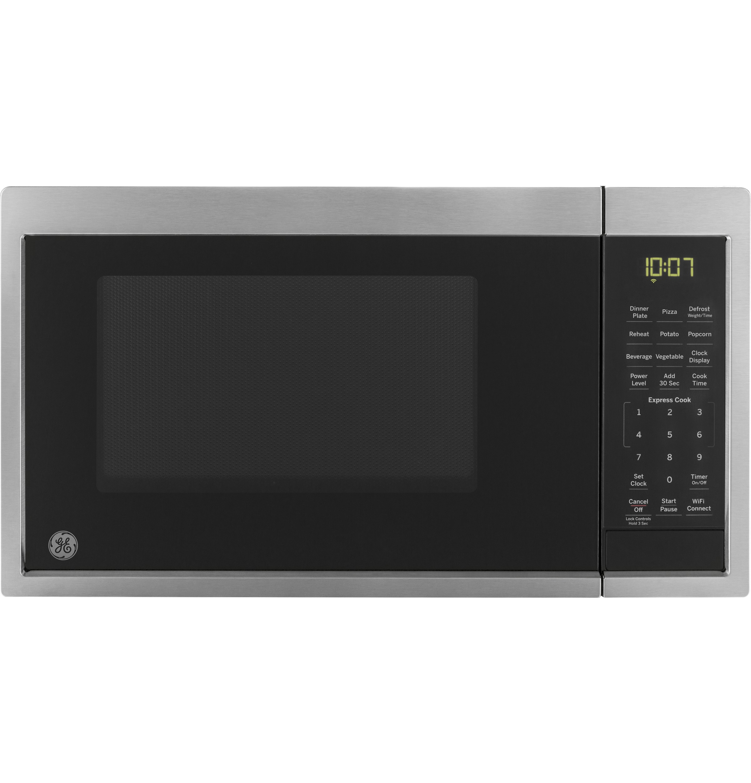 GE GE® 0.9 Cu. Ft. Capacity Smart Countertop Microwave Oven with Scan-To-Cook Technology
