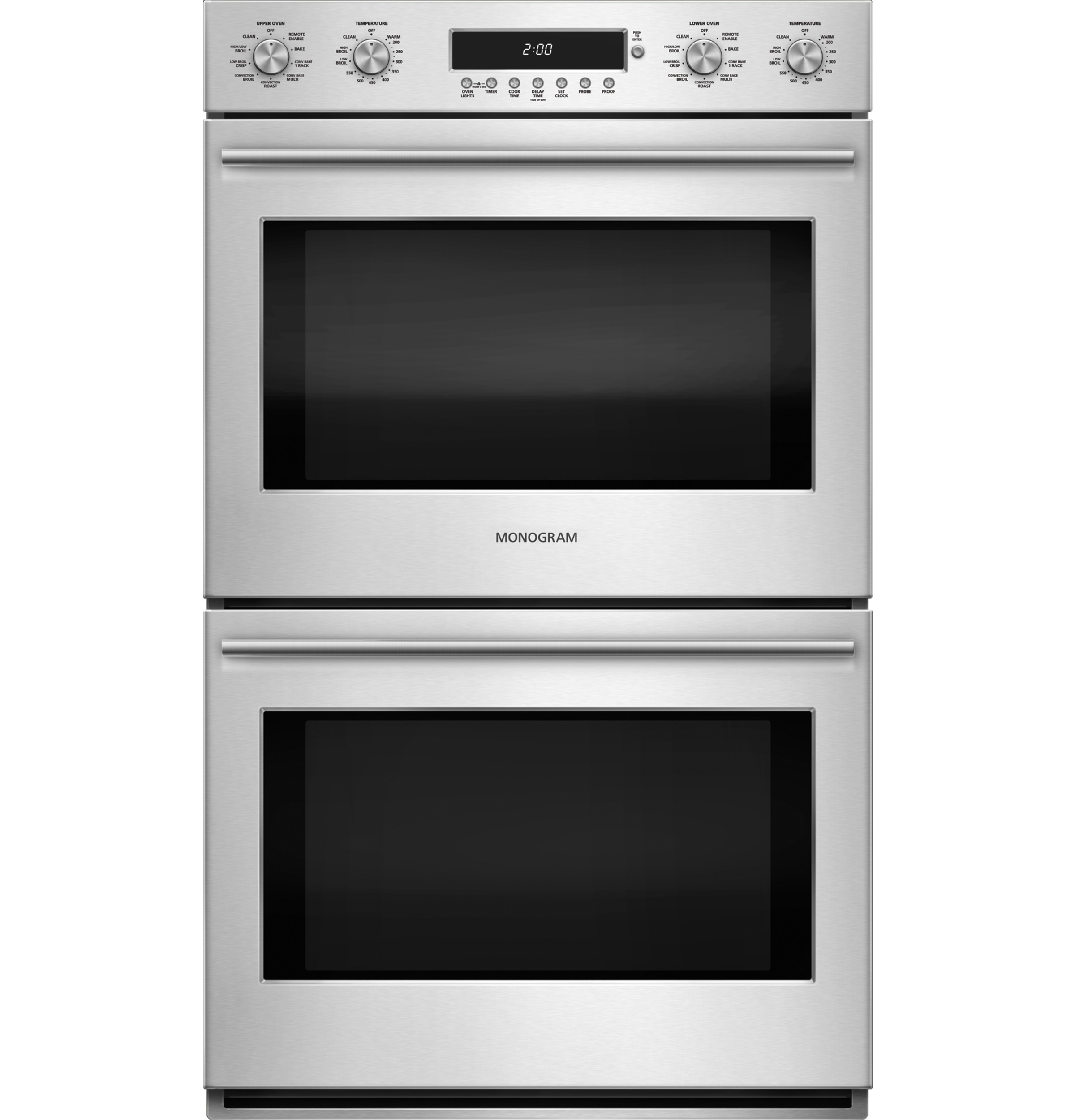 "Monogram Monogram 30"" Electronic Convection Double Wall Oven"