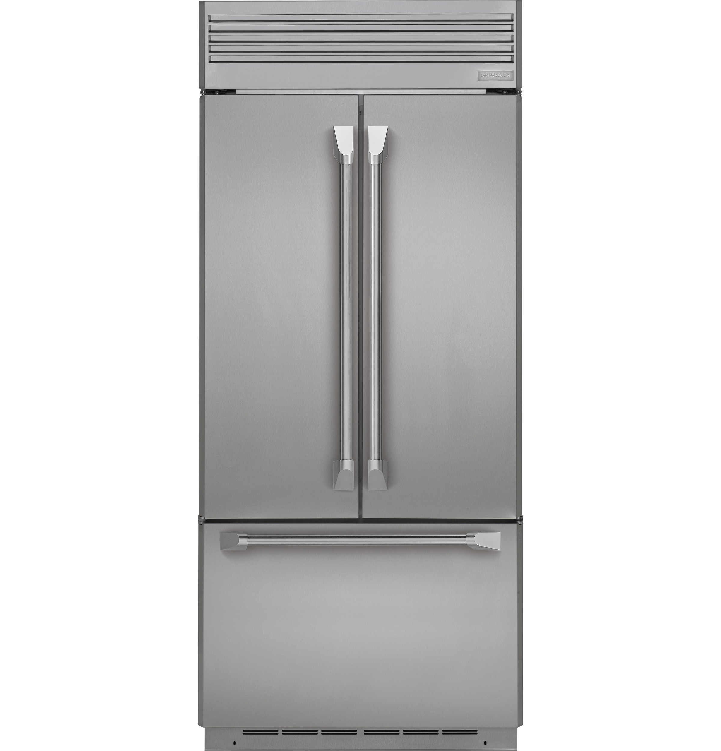 "Monogram Monogram 36"" Built-In French-Door Refrigerator"