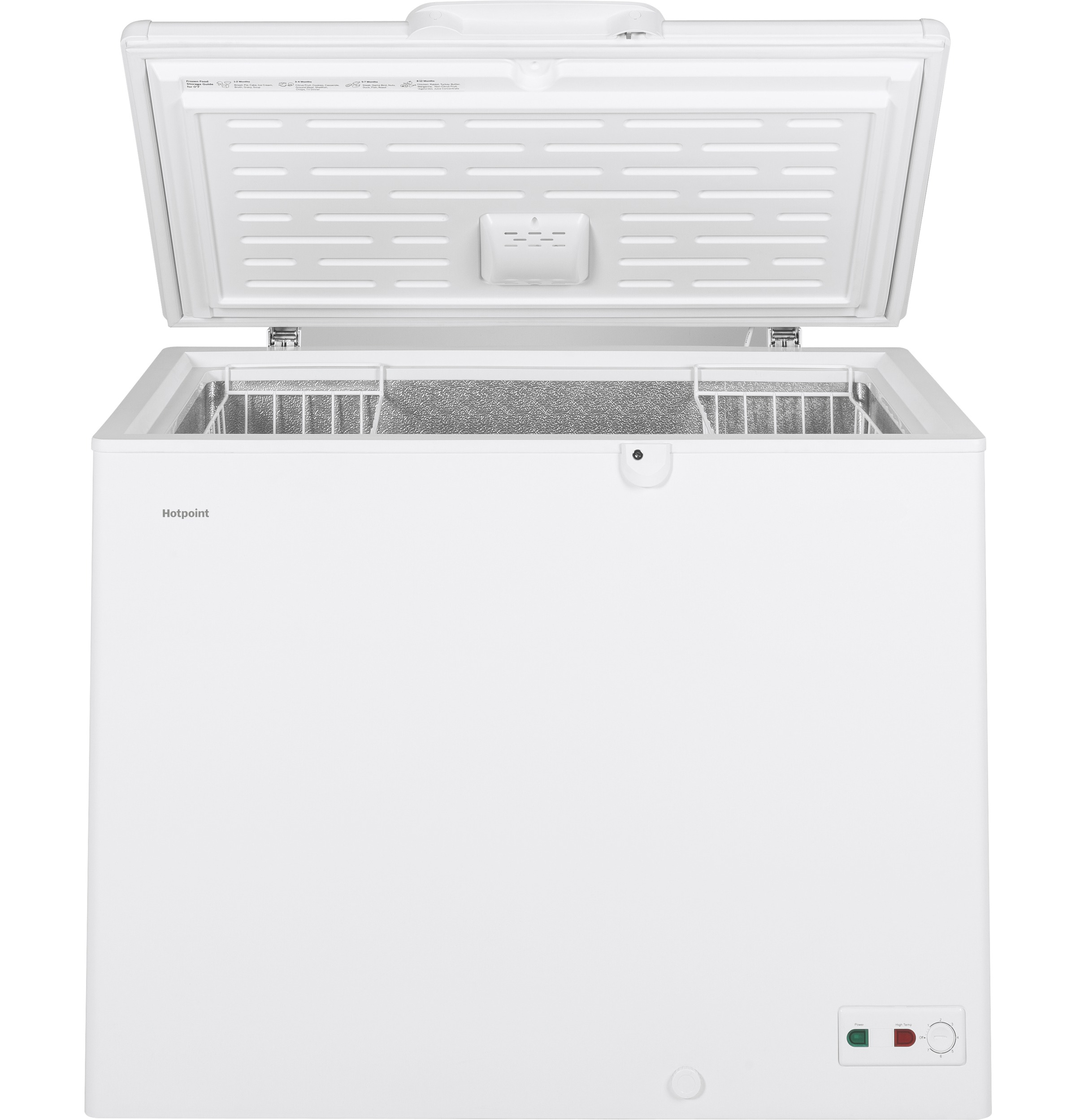 Model: HCM9DMWW | Hotpoint Hotpoint 9.4 Cu. Ft. Manual Defrost Chest Freezer