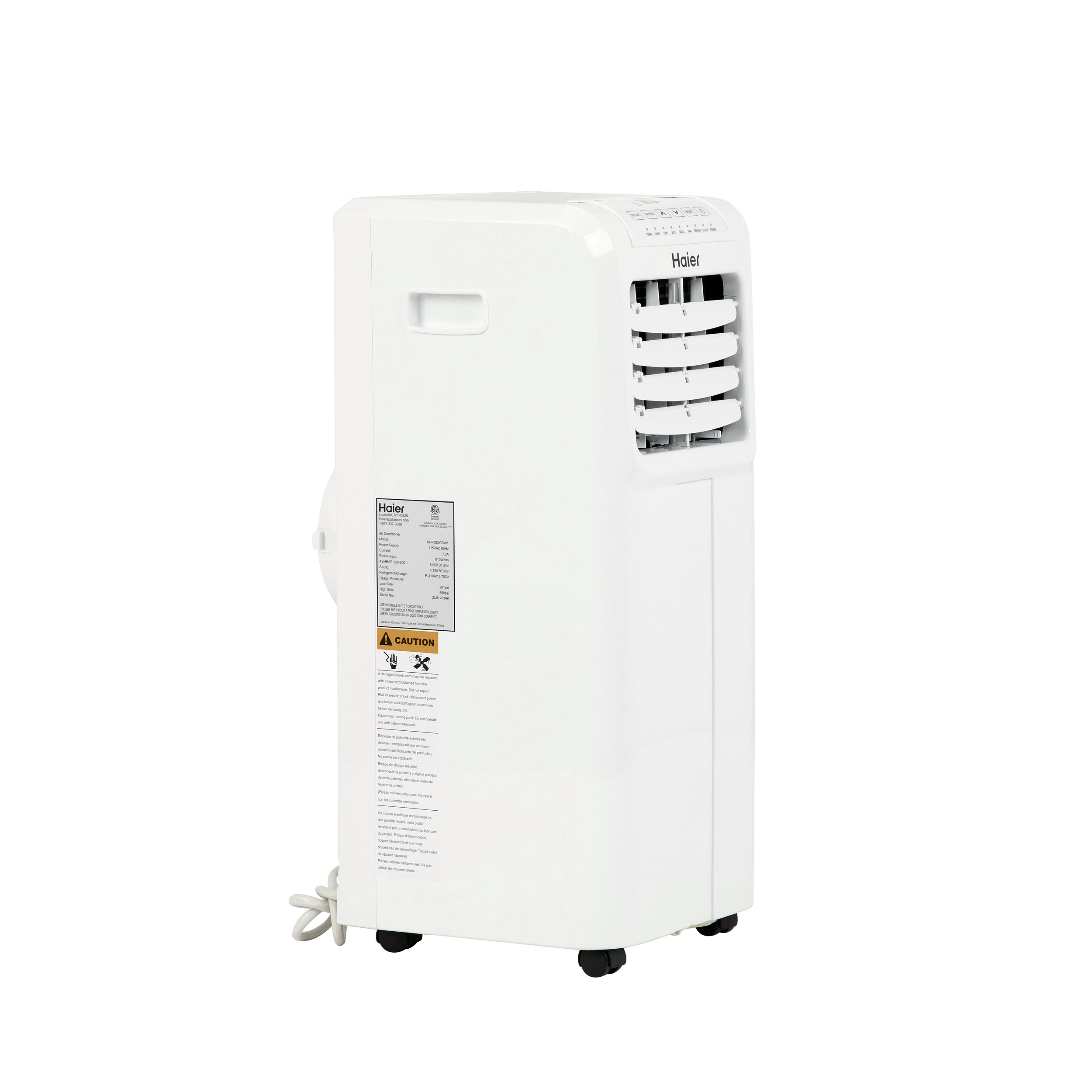 Haier - HPP08XCR - Portable Air Conditioner | Hawkins & Sons