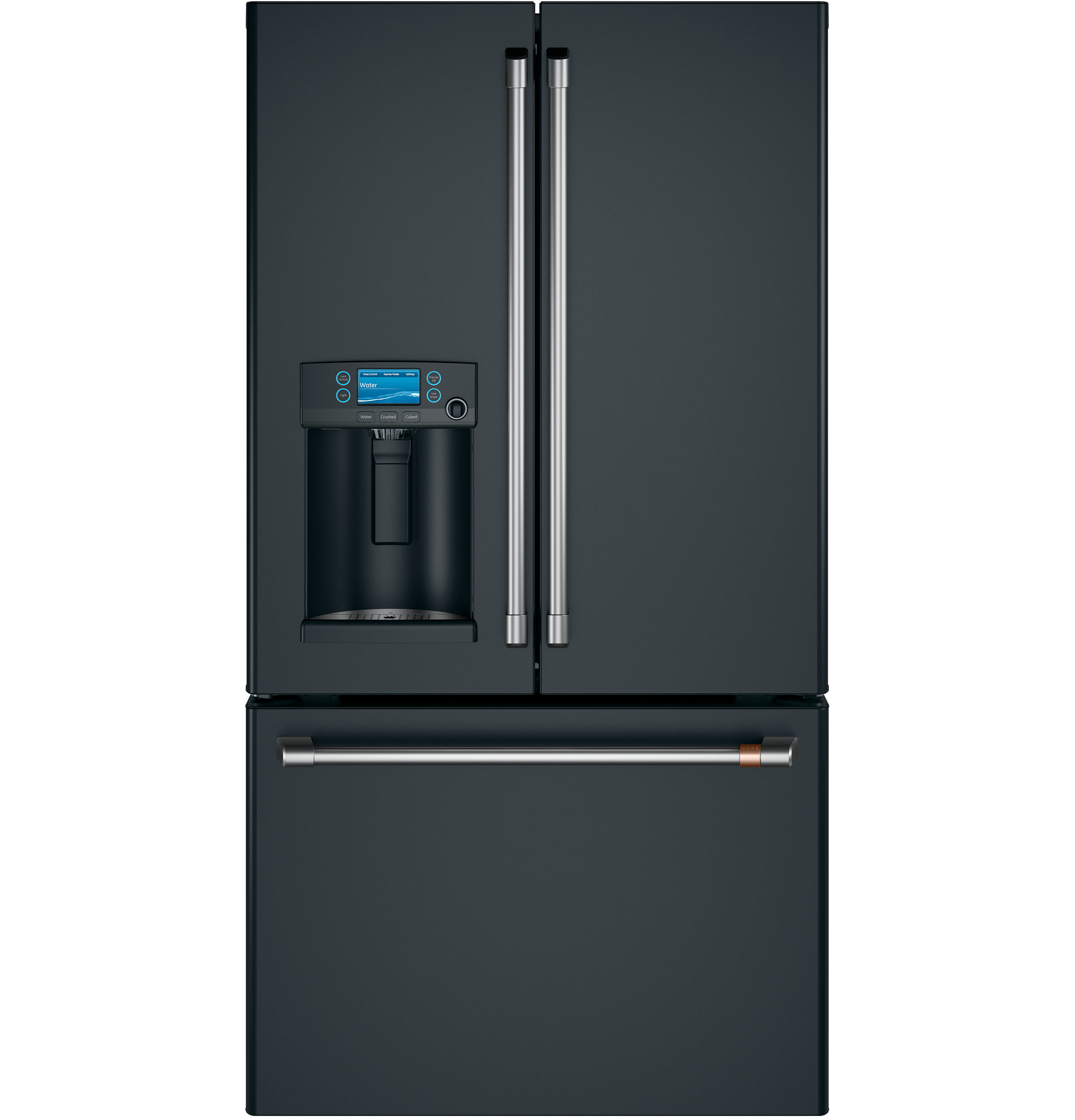 Cafe Café™ ENERGY STAR® 22.1 Cu. Ft. Smart Counter-Depth French-Door Refrigerator with Hot Water Dispenser