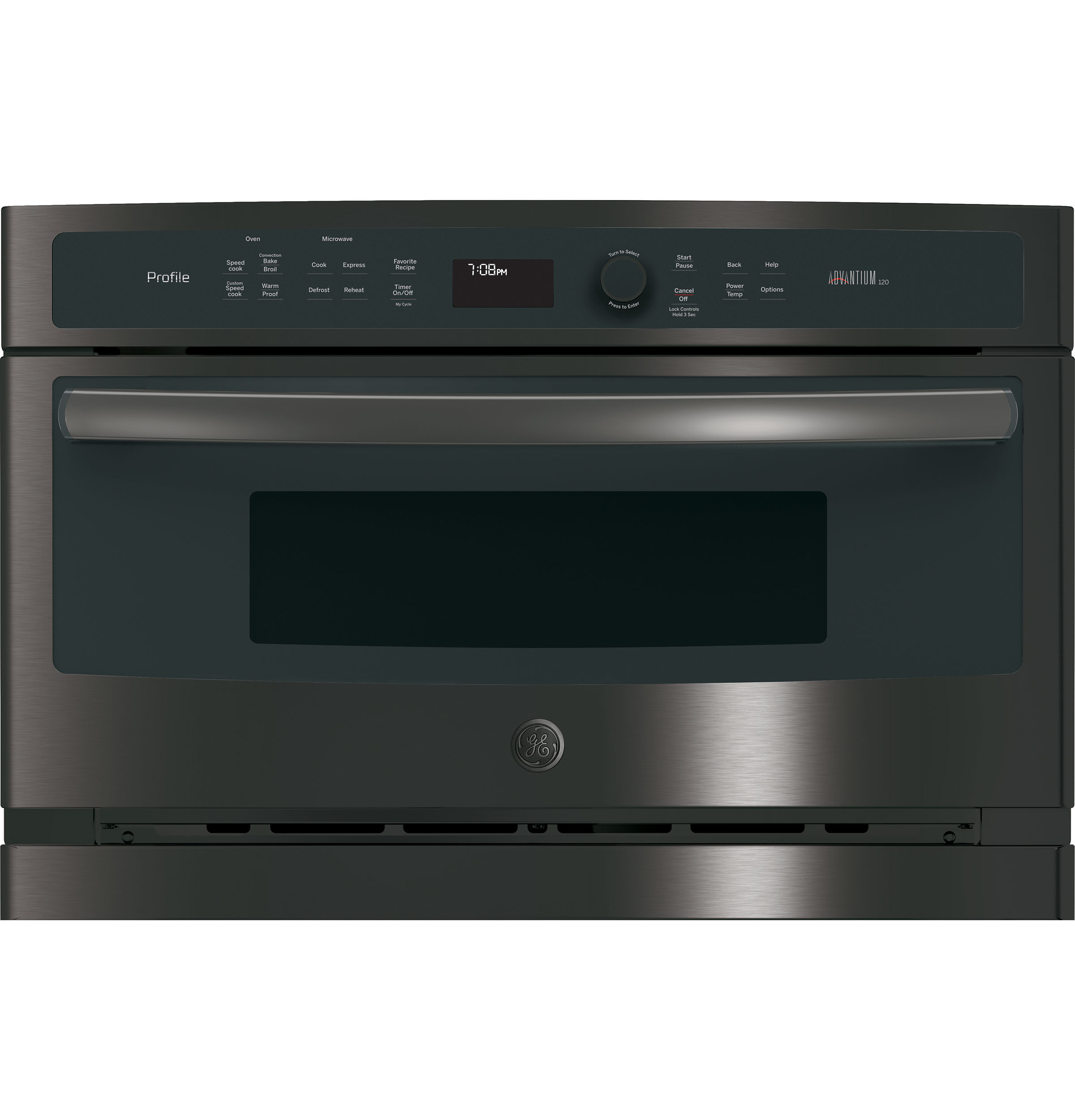 Model: PSB9100BLTS | GE Profile™ Series 27 in. Single Wall Oven Advantium® Technology