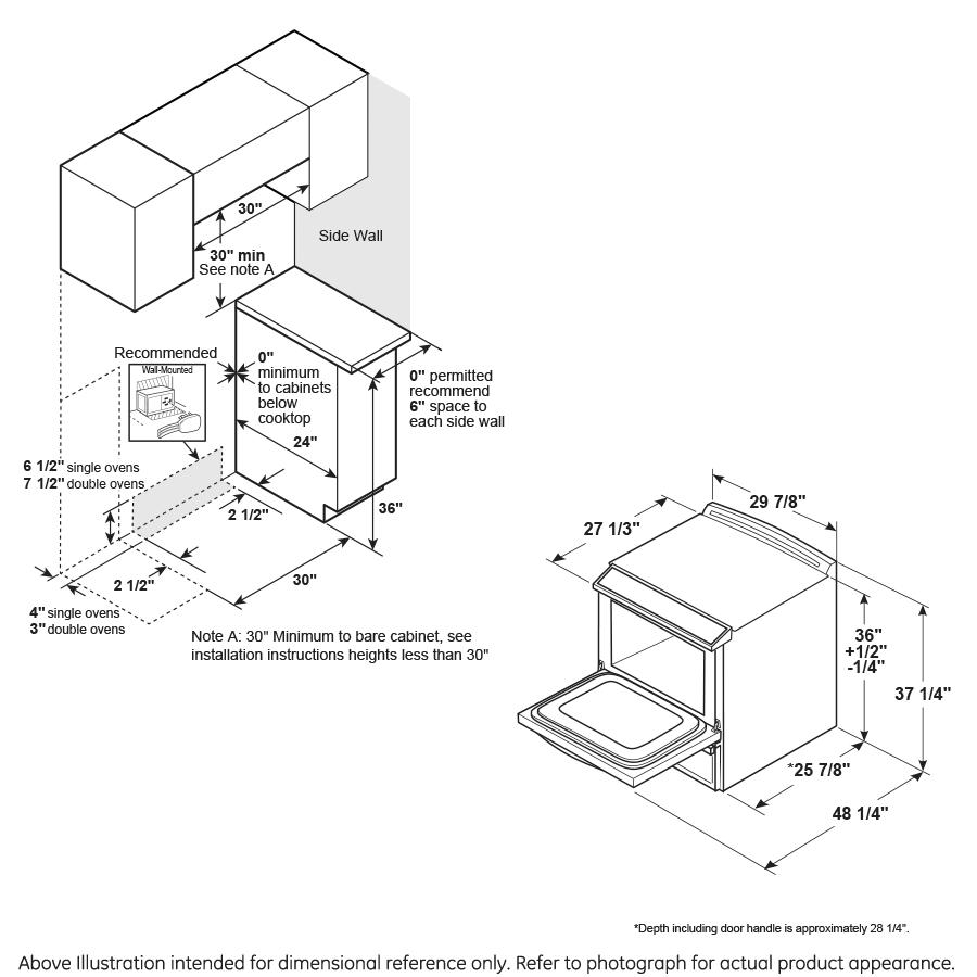 "Model: JS645DLWW | GE GE® 30"" Slide-In Electric Range"