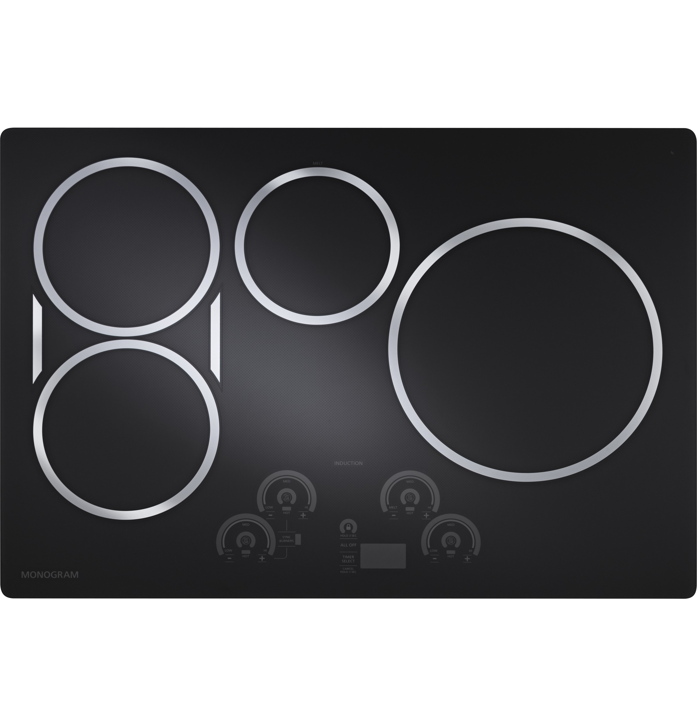 "Monogram Monogram 30"" Induction Cooktop"