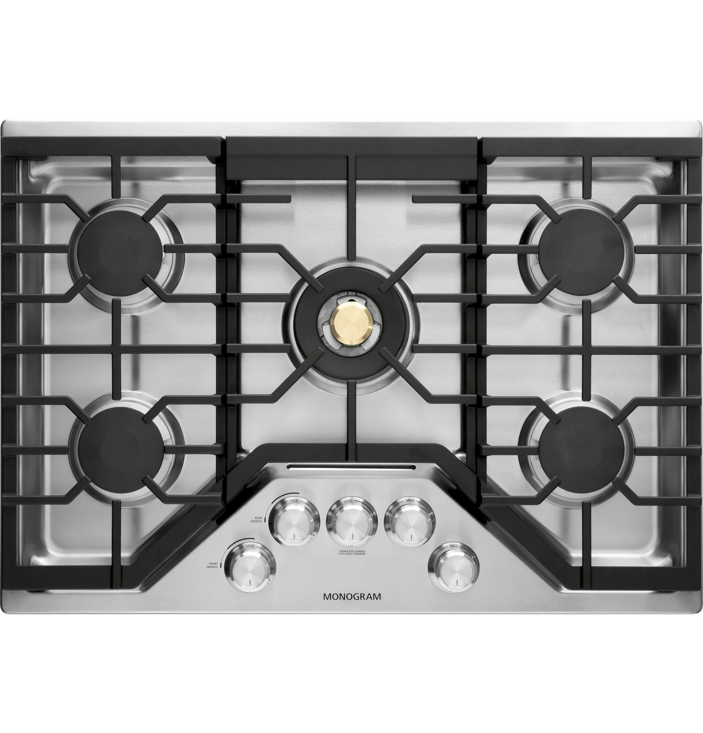 "Monogram Monogram 30"" Deep-Recessed Gas Cooktop (Natural Gas)"