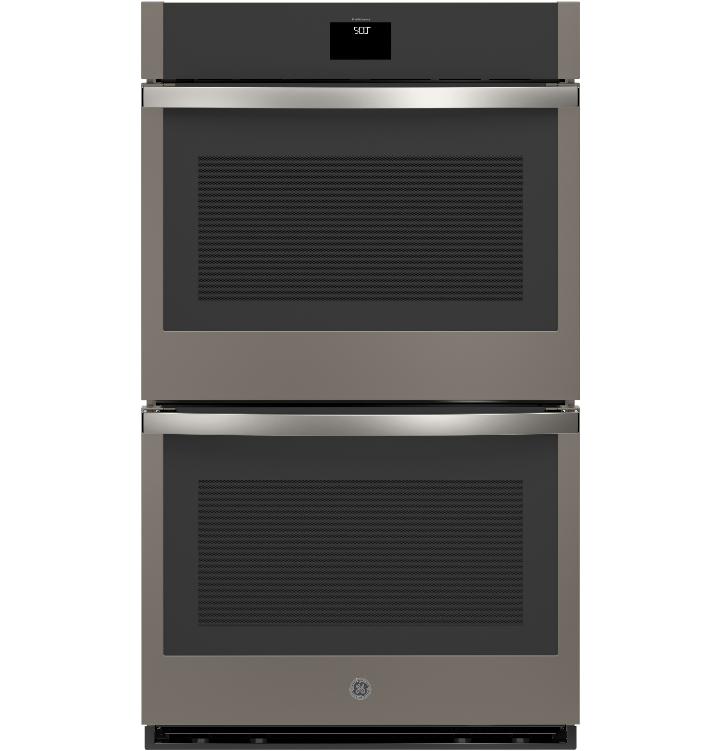 "Model: JTD5000ENES | GE GE® 30"" Smart Built-In Self-Clean Convection Double Wall Oven with Never Scrub Racks"