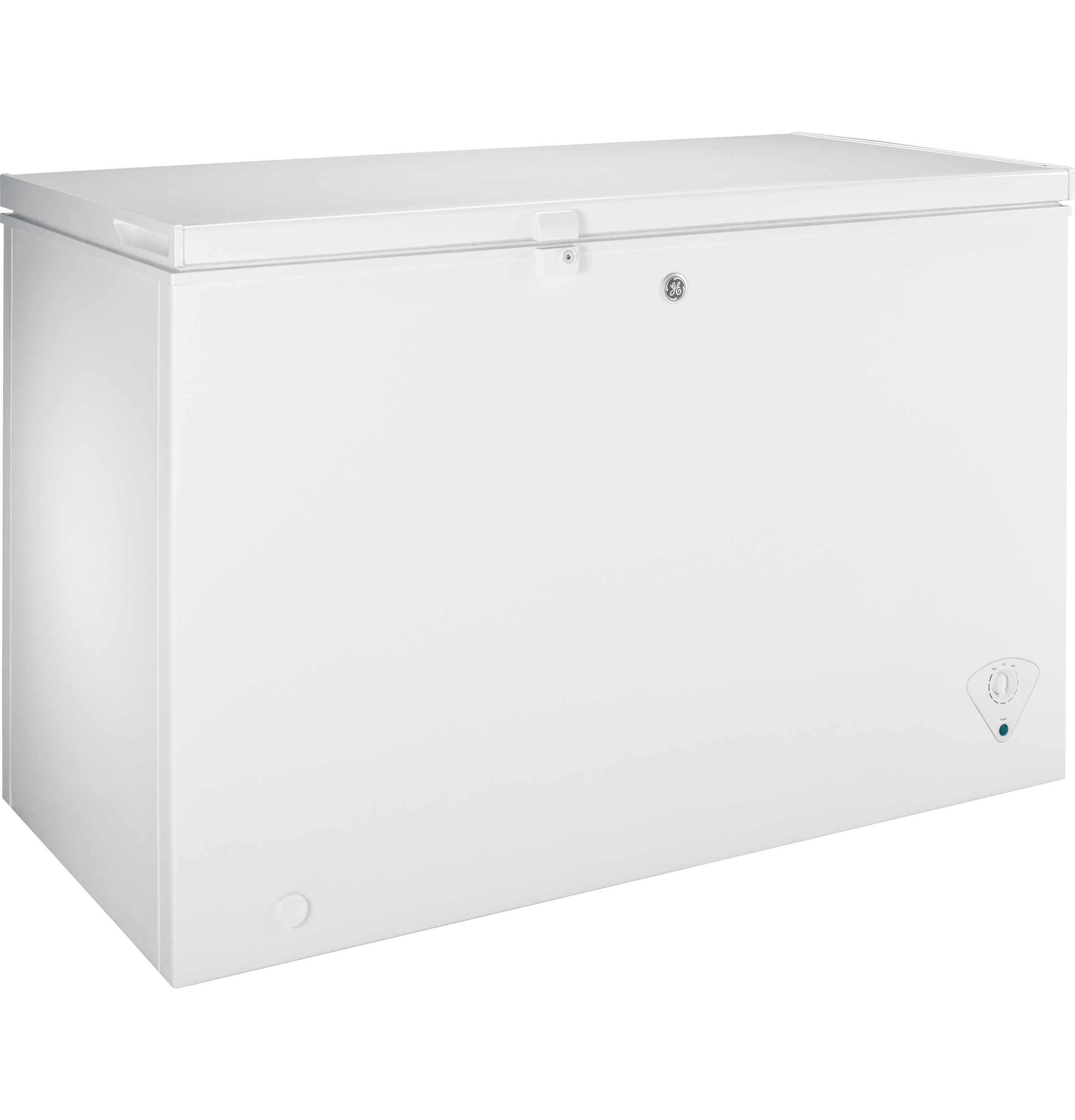 Model: FCM11PHWW | GE GE® ENERGY STAR® 10.6 Cu. Ft. Manual Defrost Chest Freezer