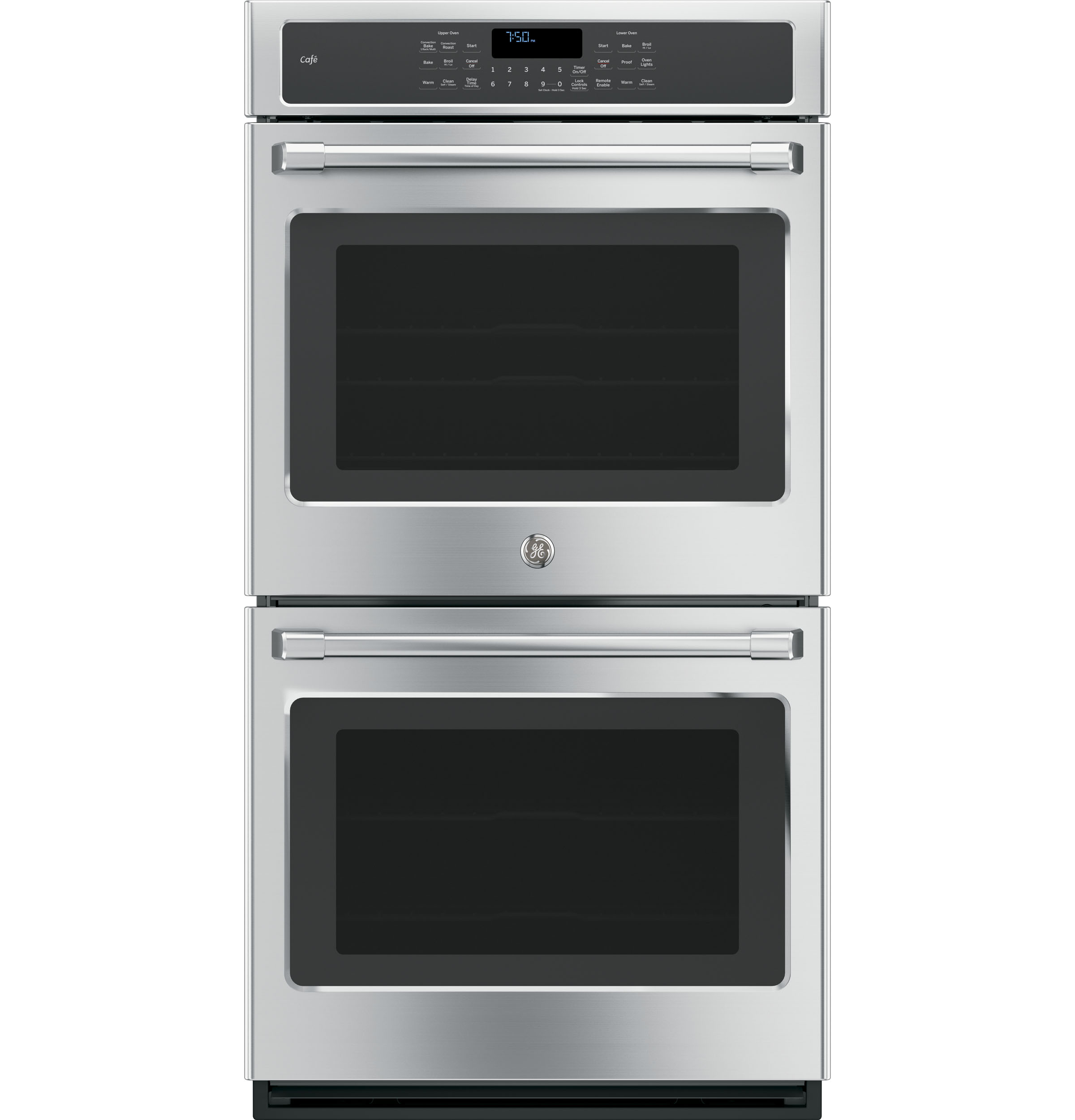 "GE Cafe GE Café™ Series 27"" Built-in Double Wall Oven with Convection"