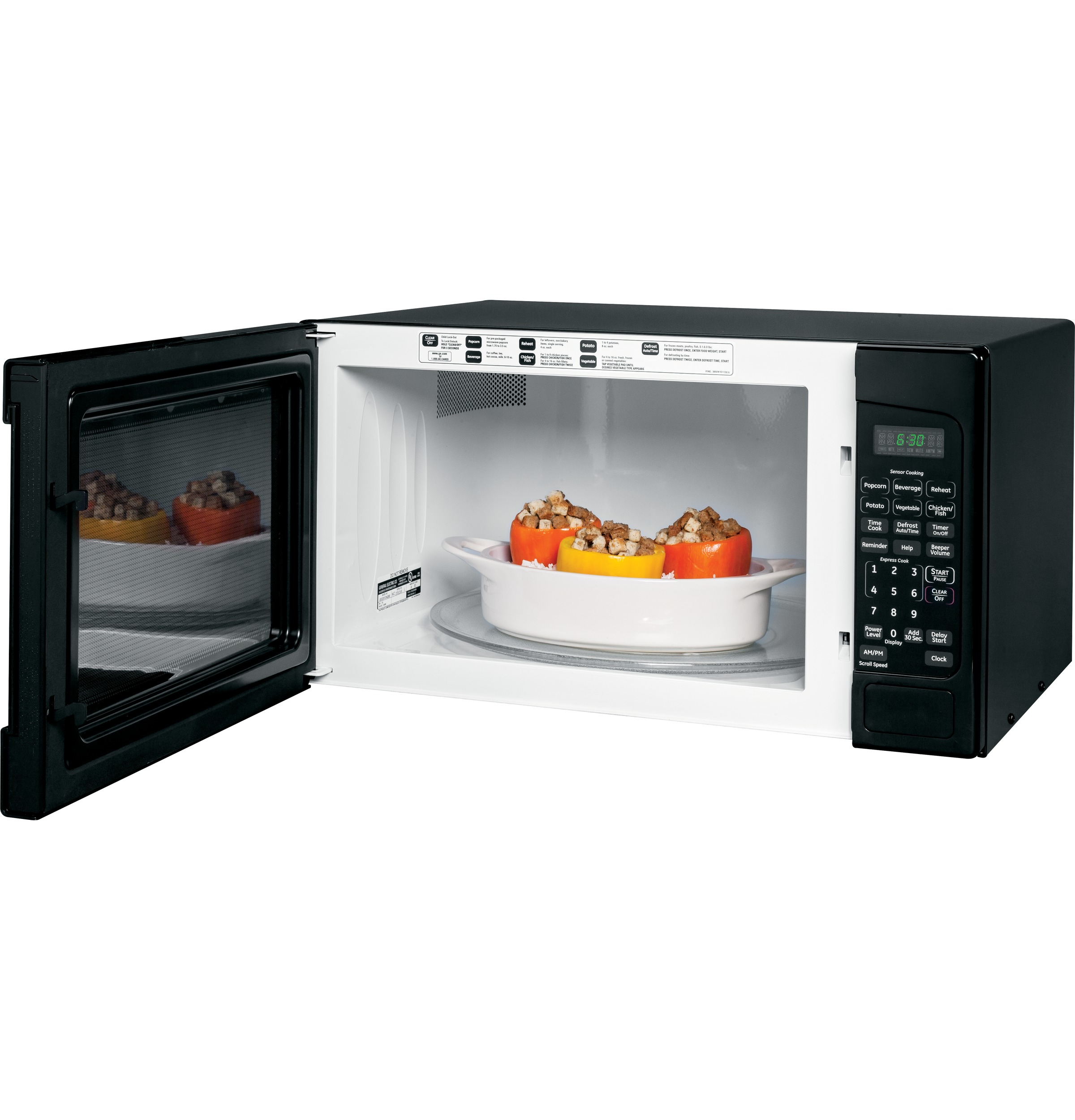 Model: JES2051DNBB | GE GE® 2.0 Cu. Ft. Capacity Countertop Microwave Oven
