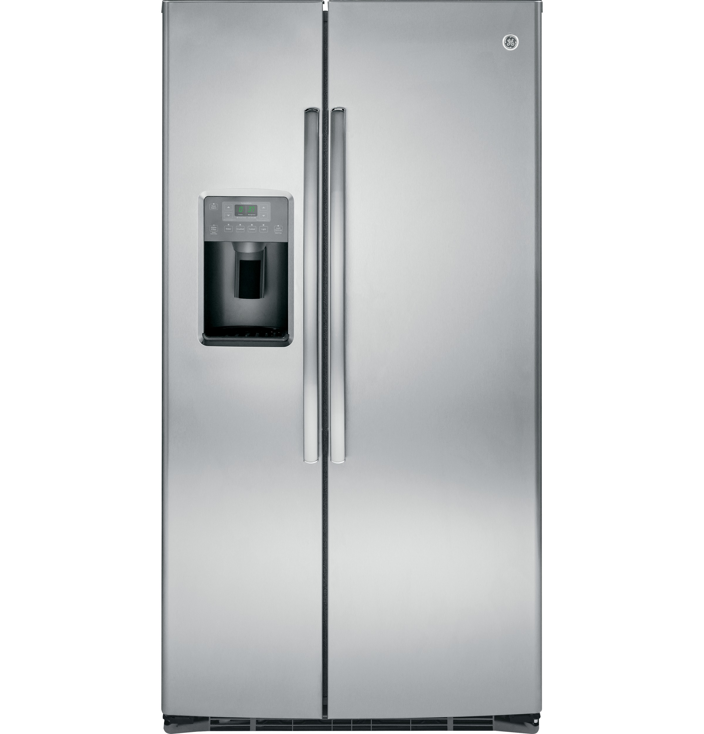 Model: GSE25HSHSS | GE® ENERGY STAR® 25.3 Cu. Ft. Side-By-Side Refrigerator