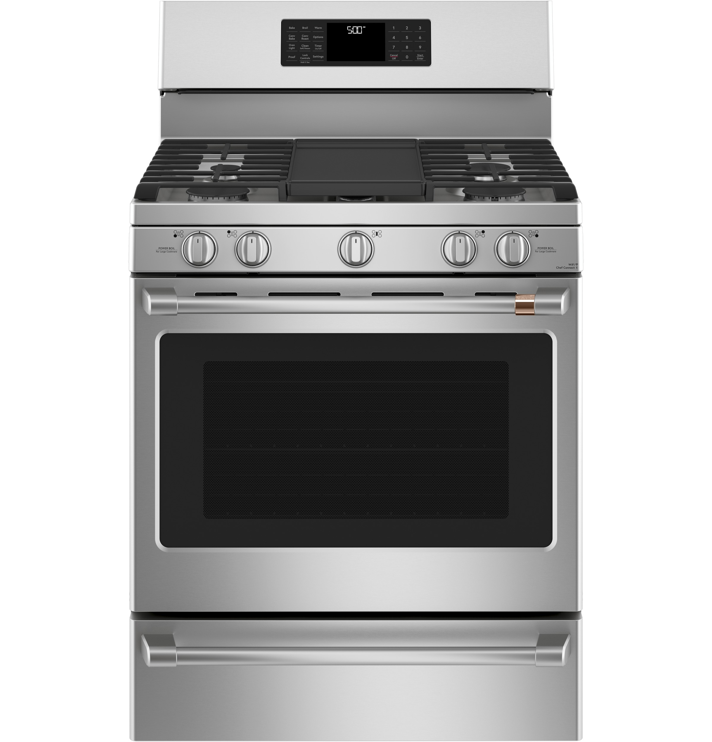 "Cafe Café™ 30"" Smart Free-Standing Gas Range with Convection"