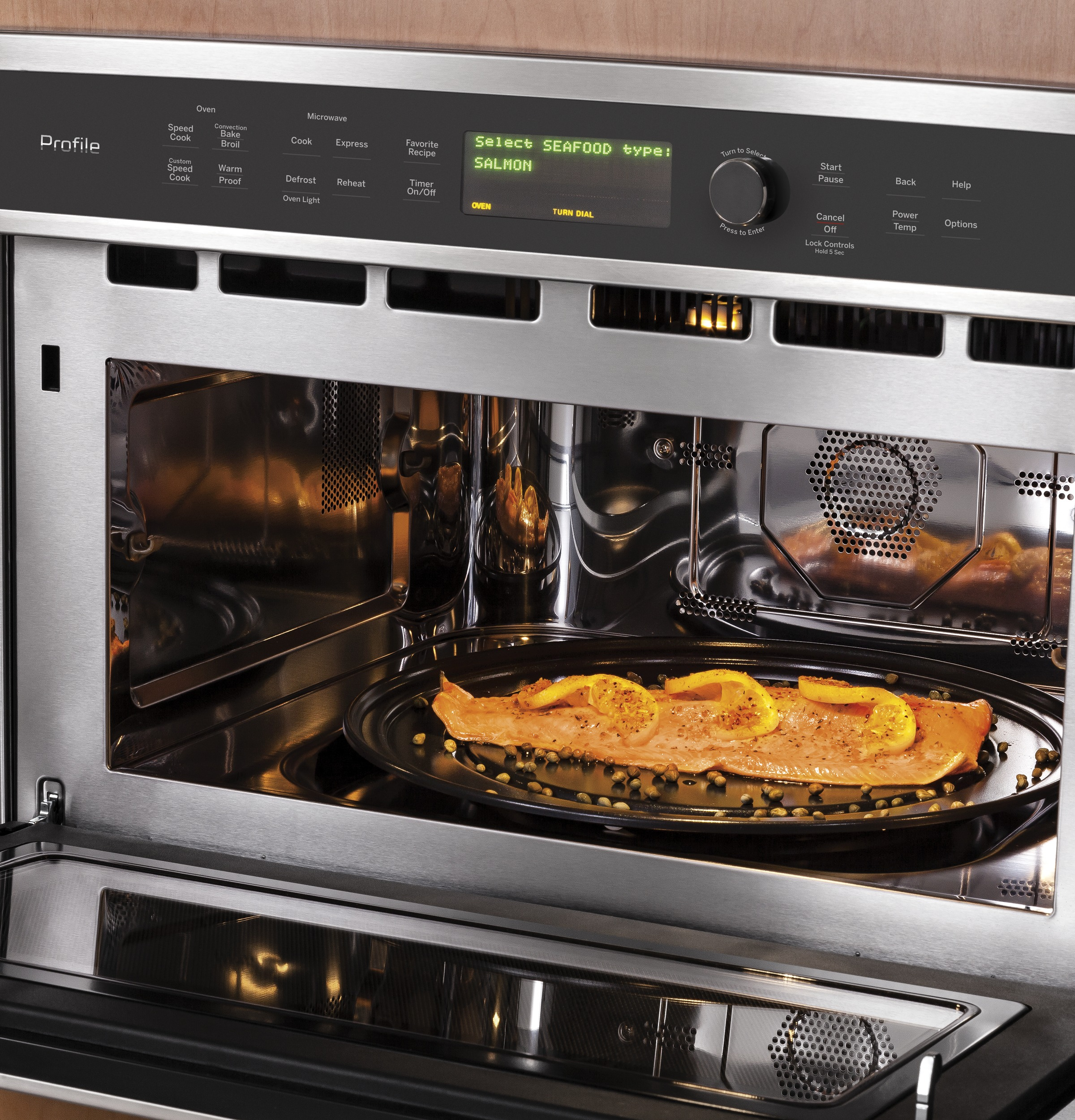 Model: PSB9120SFSS   GE Profile™ Series 30 in. Single Wall Oven with Advantium® Technology