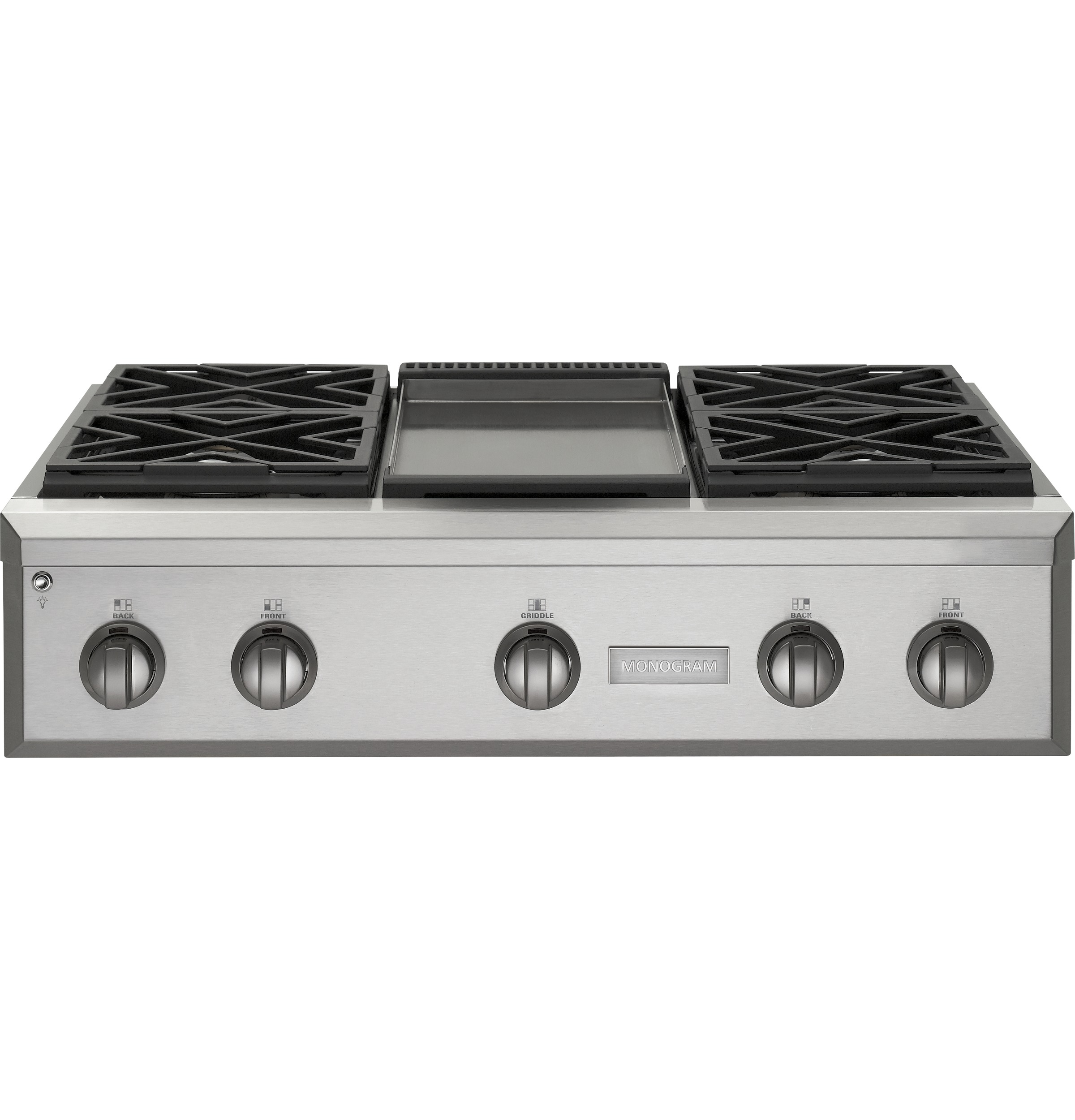 "Monogram Monogram 36"" Professional Gas Rangetop with 4 Burners and Griddle (Natural Gas)"