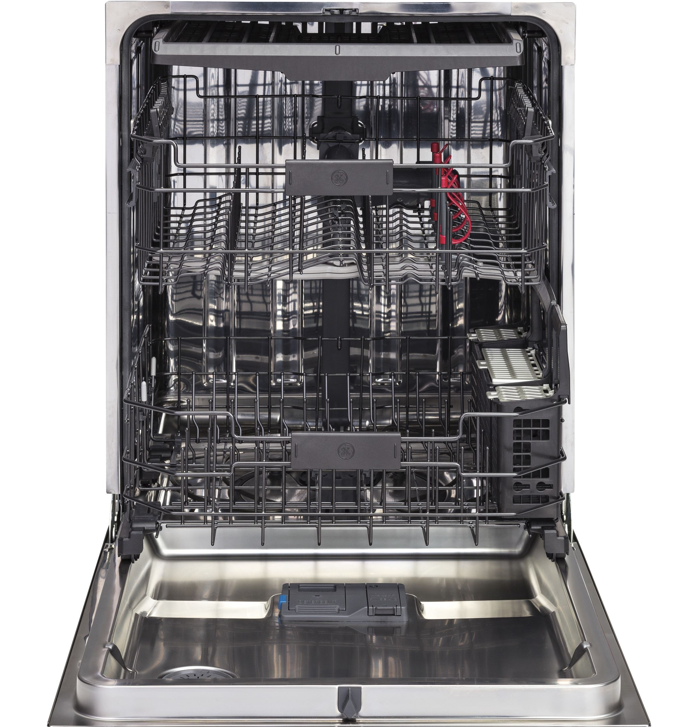 Model: GDP695SSMSS | GE® Stainless Steel Interior Dishwasher with Hidden Controls