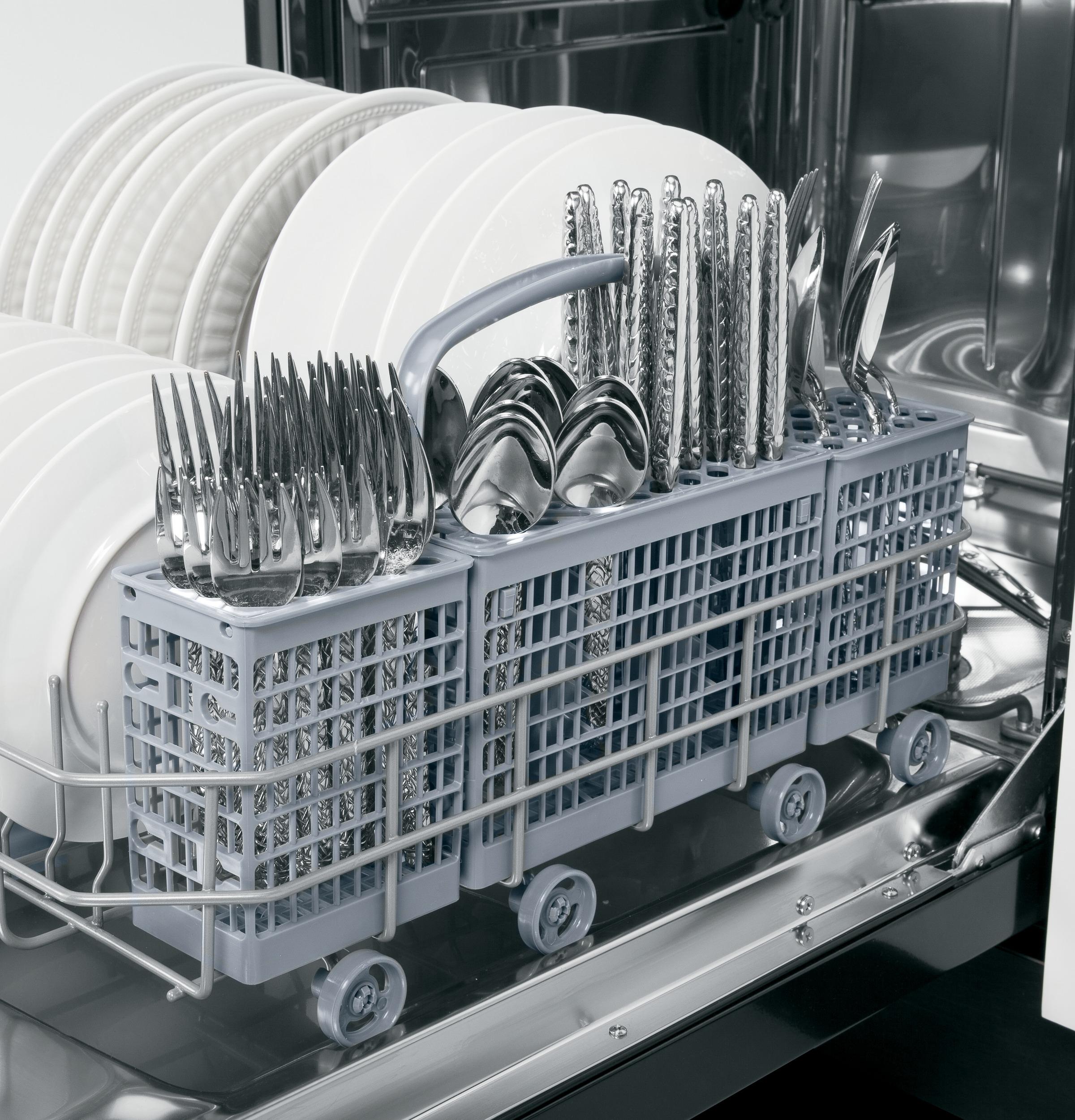 Model: GLDT690JBB | GE GE® Built-In Dishwasher with Hidden Controls