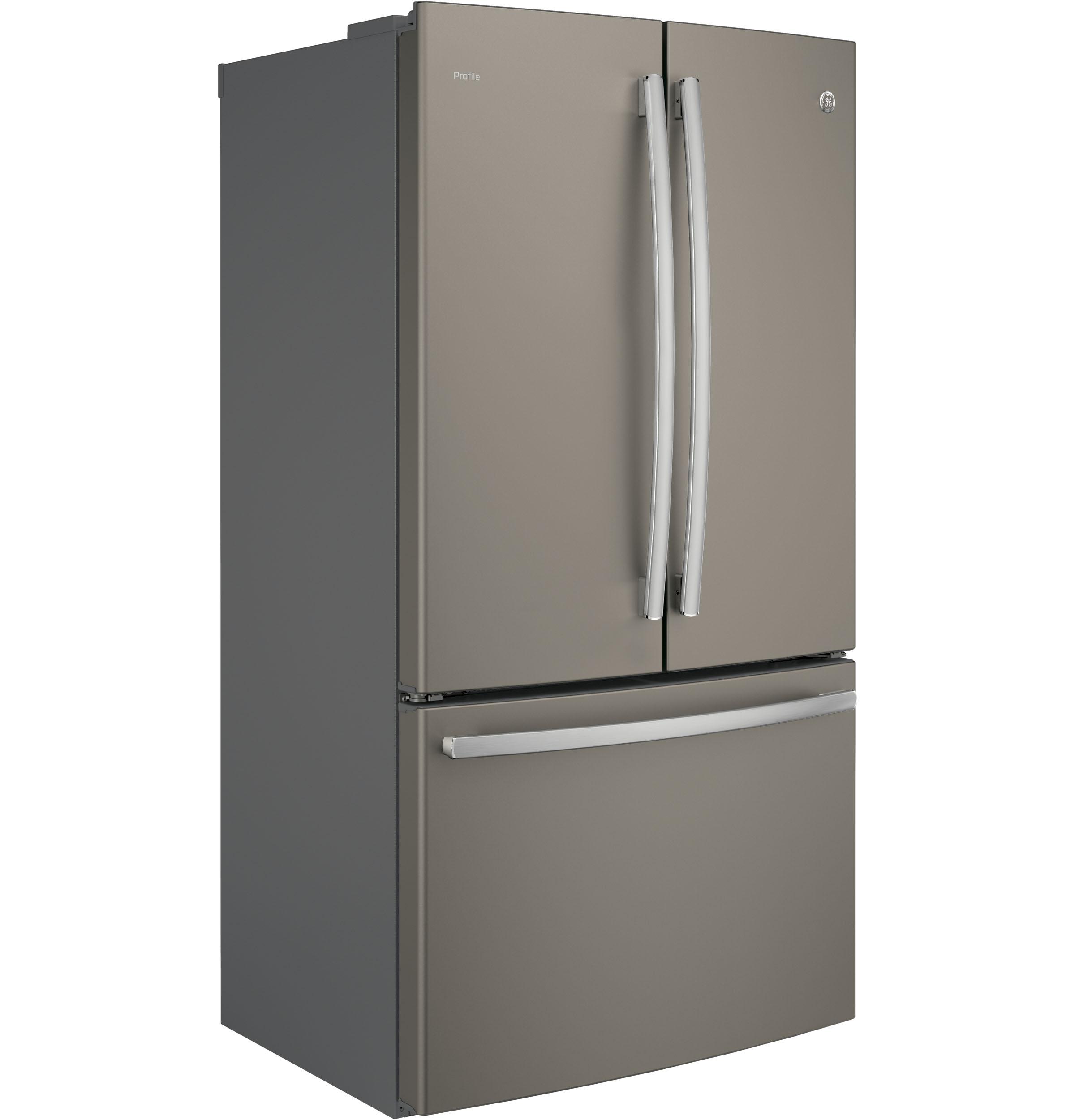 Model: PWE23KMKES | GE Profile™ Series ENERGY STAR® 23.1 Cu. Ft. Counter-Depth French-Door Refrigerator