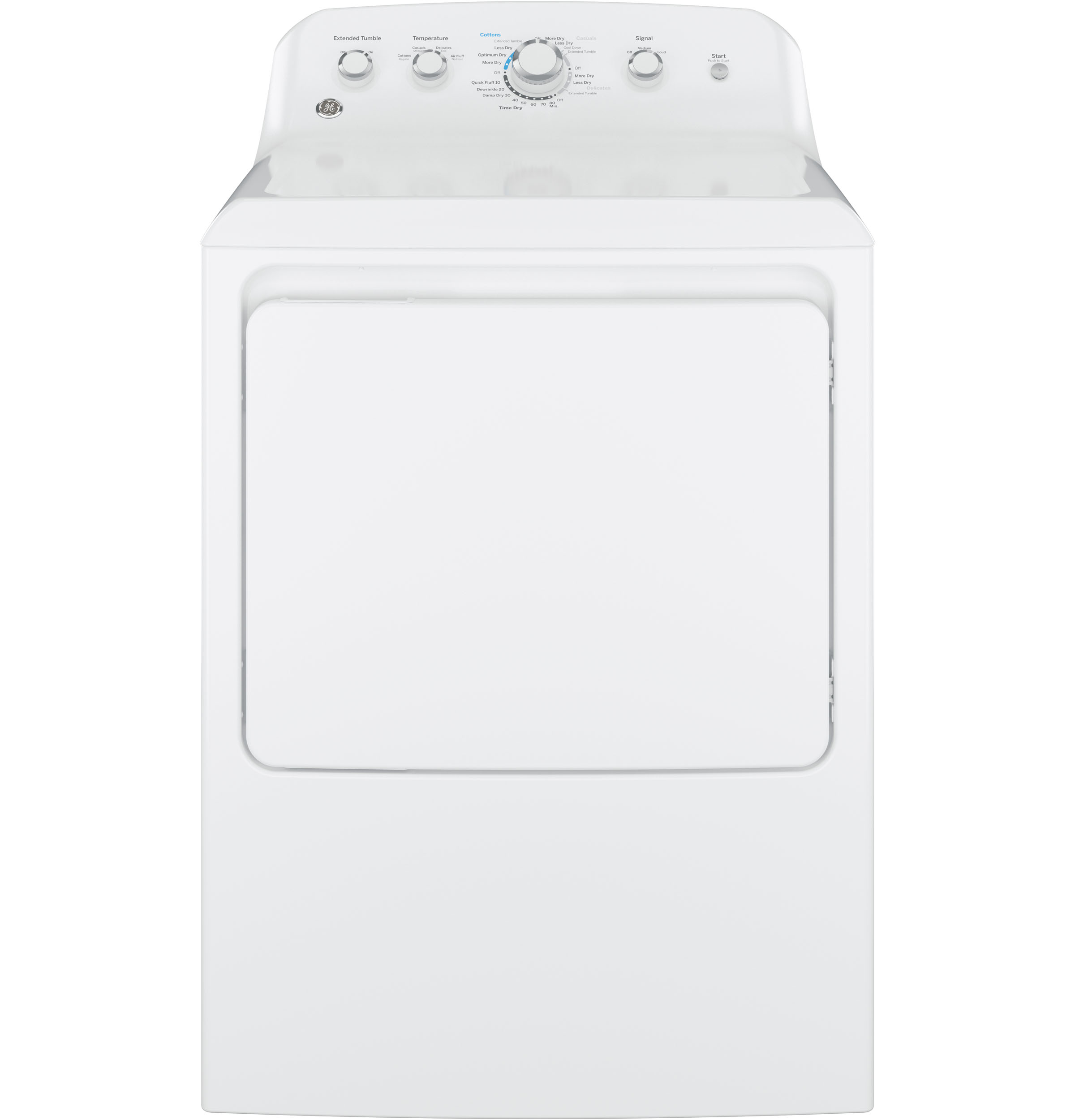 GE GE® 7.2 cu. ft. Capacity aluminized alloy drum Electric Dryer