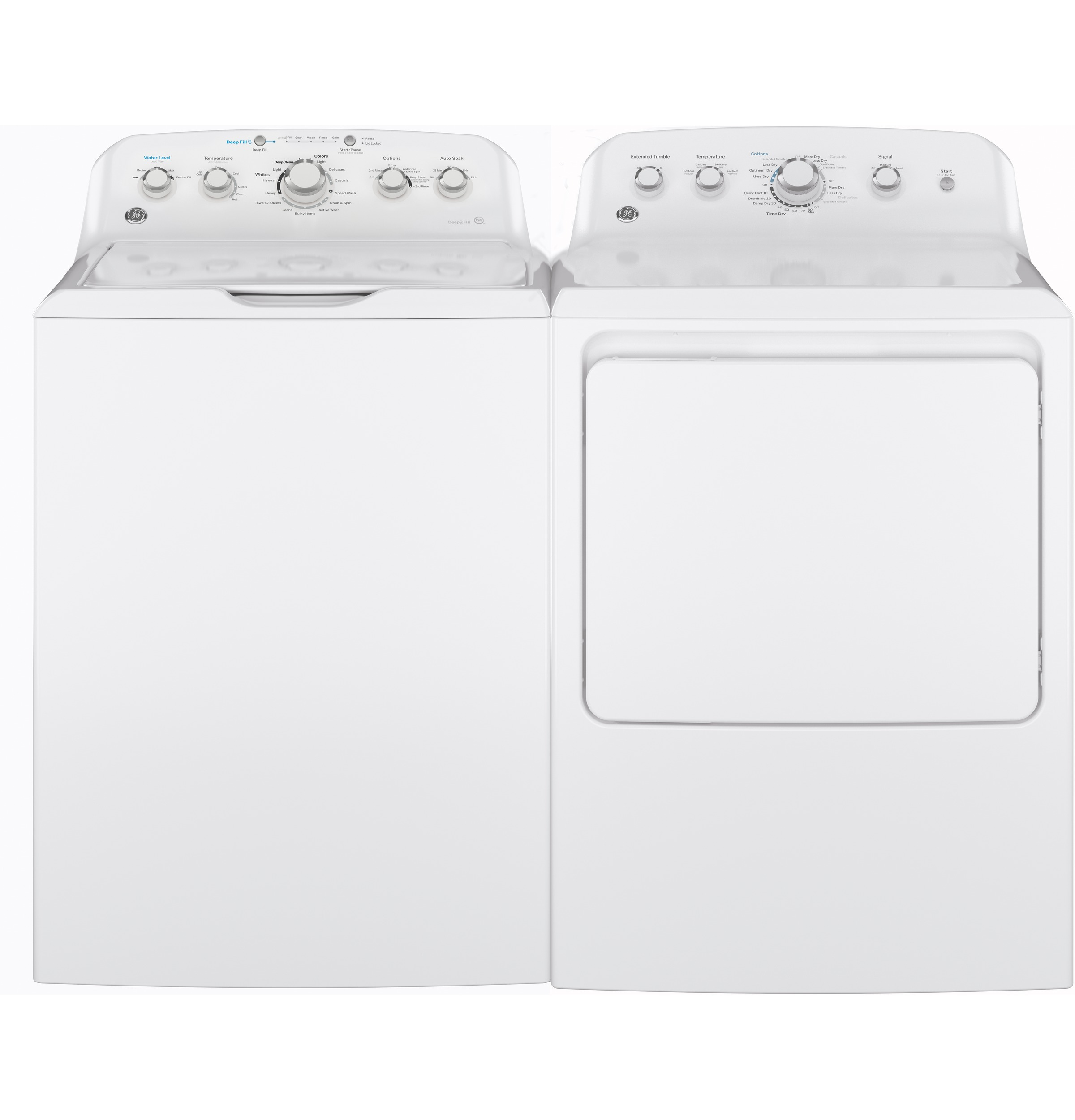 Model: GTD42EASJWW | GE GE® 7.2 cu. ft. Capacity aluminized alloy drum Electric Dryer