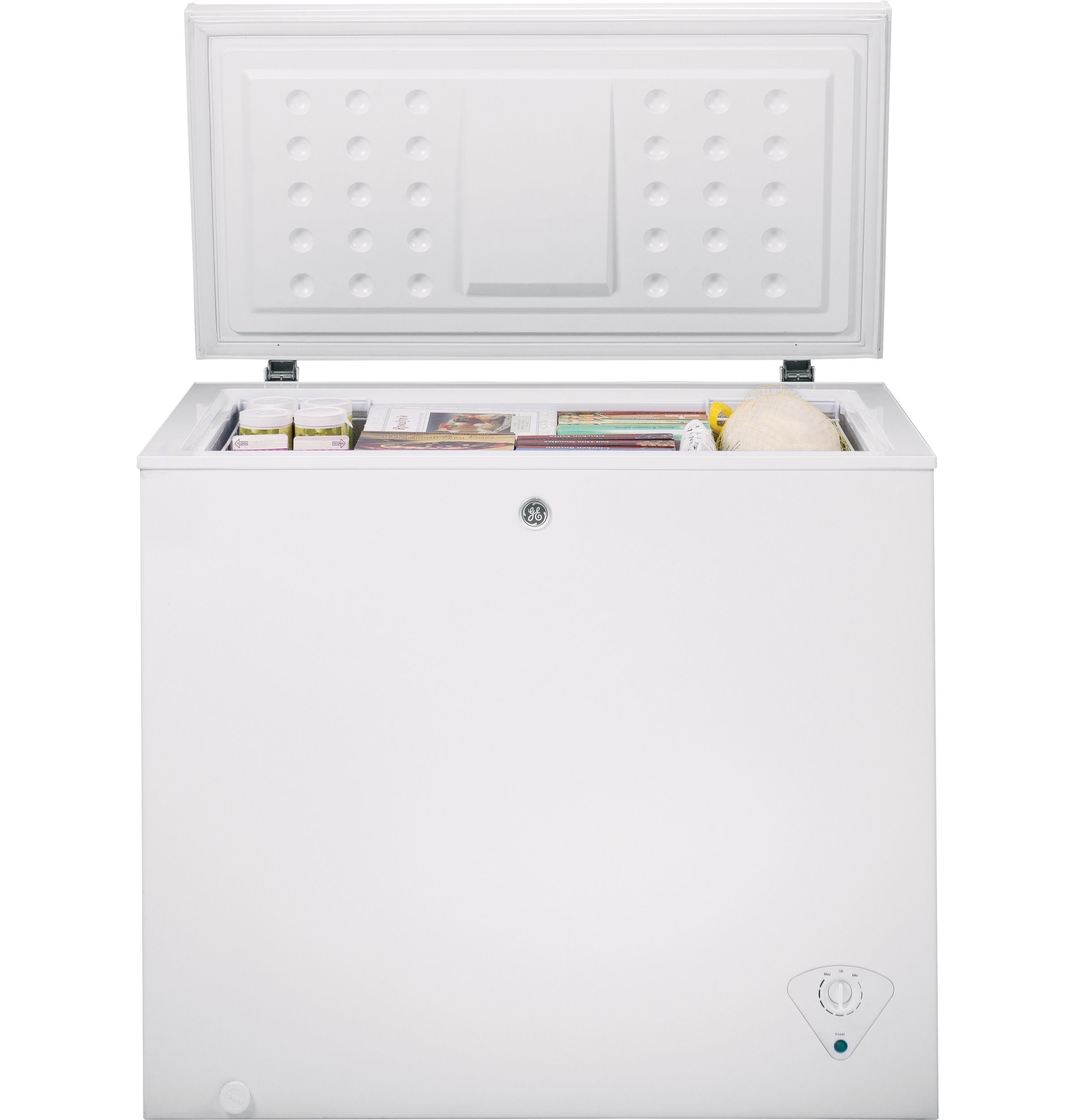 Model: FCM7SKWW | GE® 7.0 Cu. Ft. Manual Defrost Chest Freezer